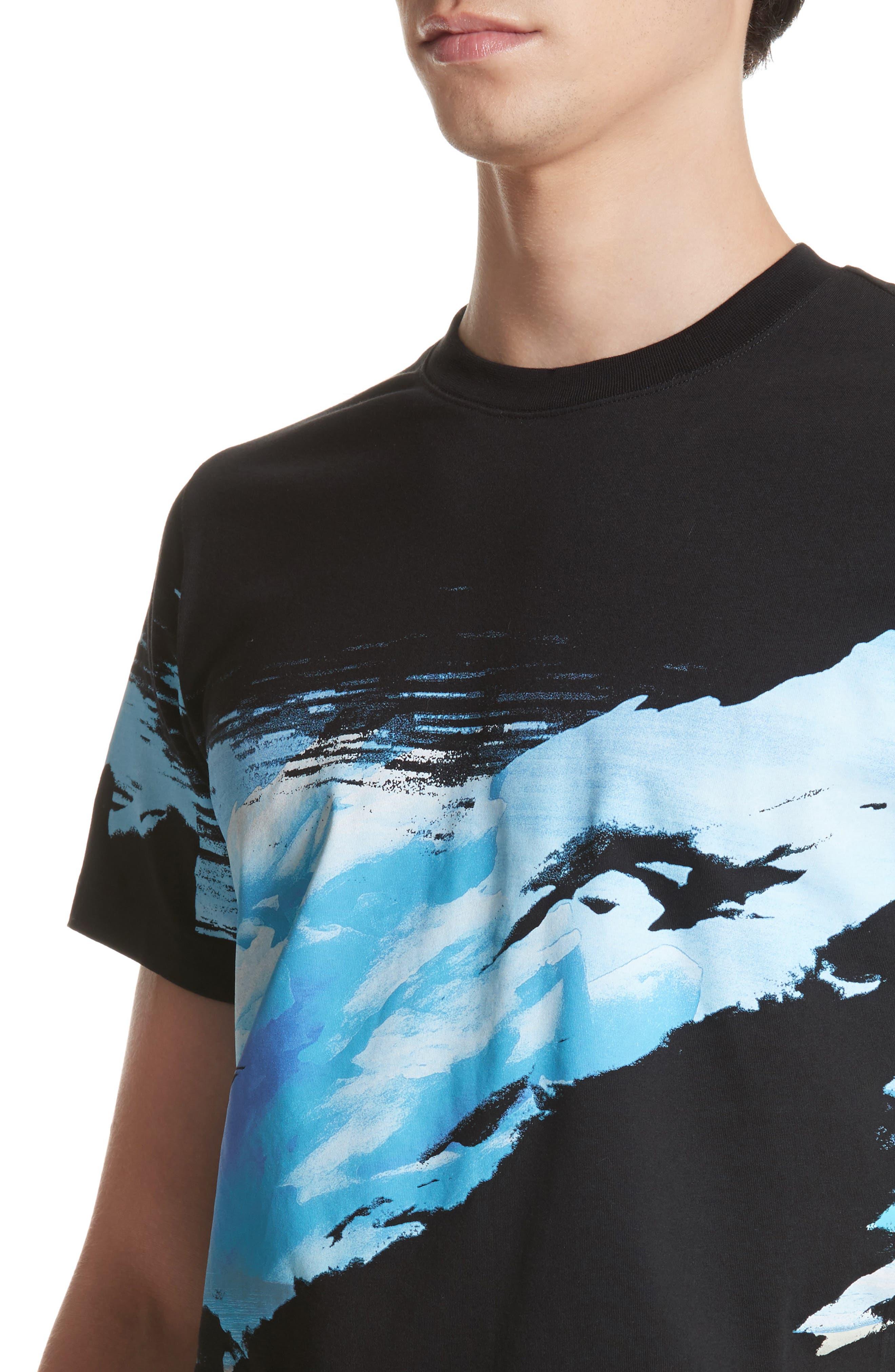 Abstract Landscape T-Shirt,                             Alternate thumbnail 4, color,                             452