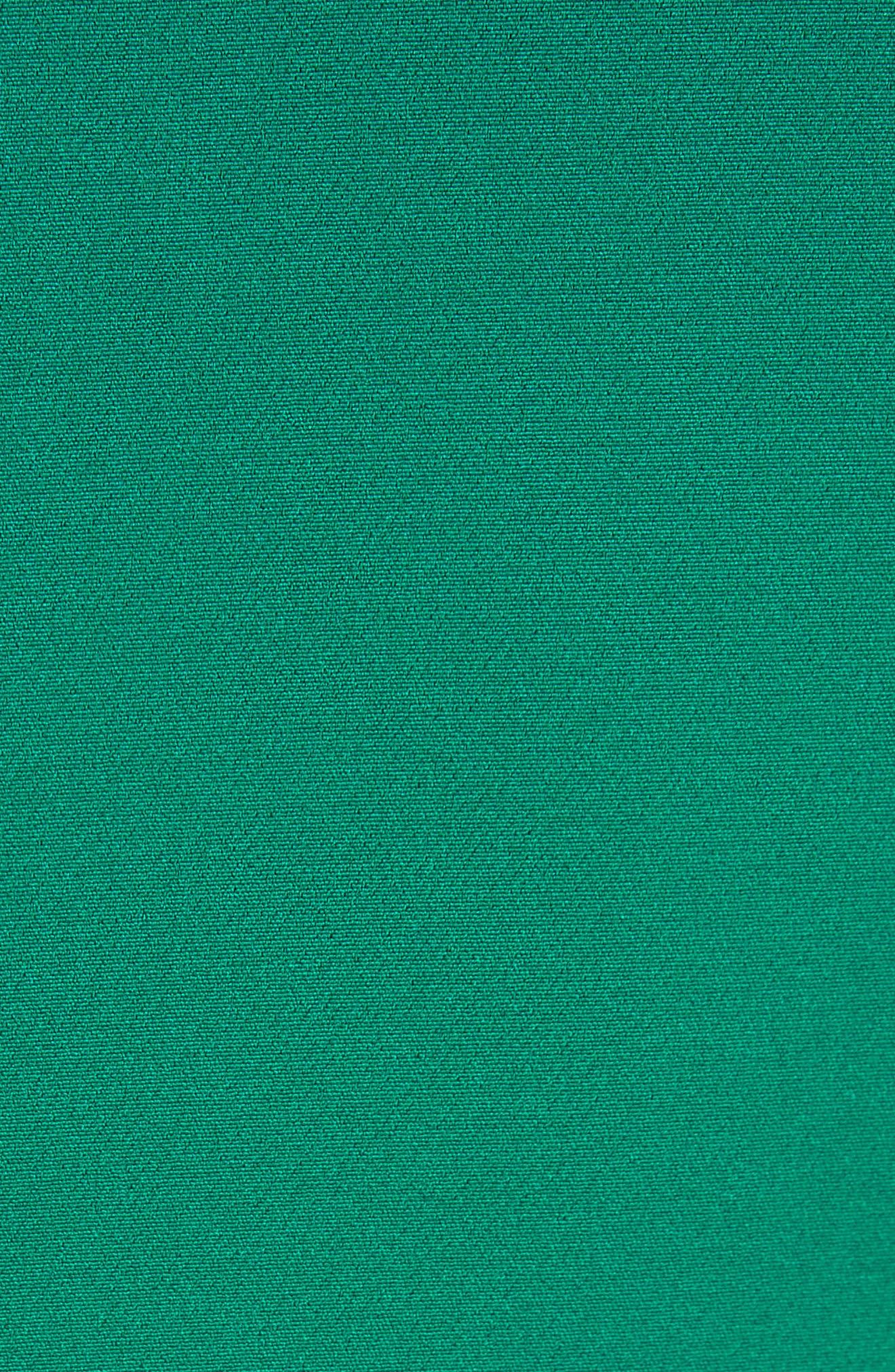 Savannah Ruffle Stretch Crepe Minidress,                             Alternate thumbnail 6, color,