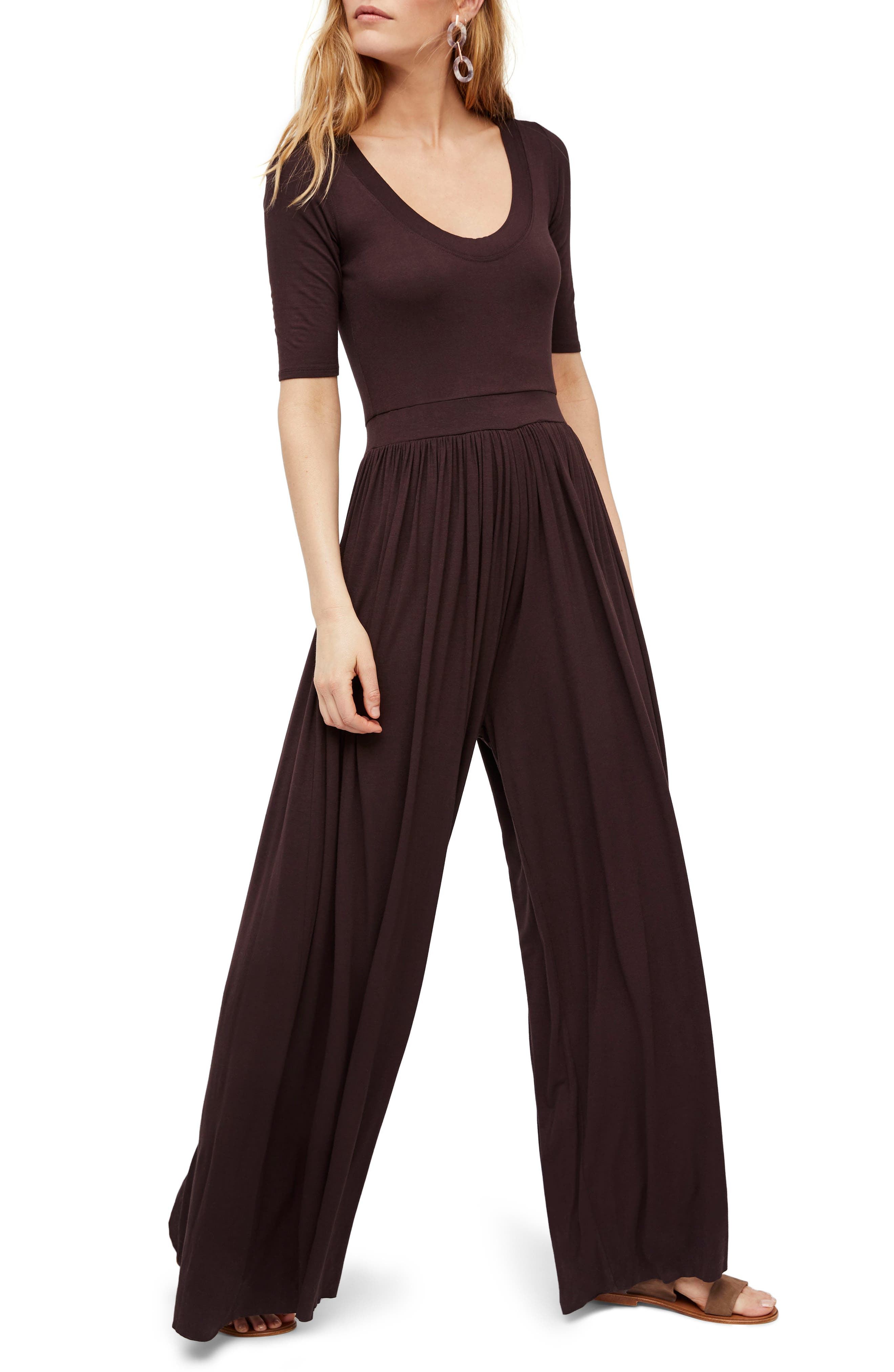 Endless Summer by Free People Rosebowl Jumpsuit,                             Main thumbnail 1, color,                             201