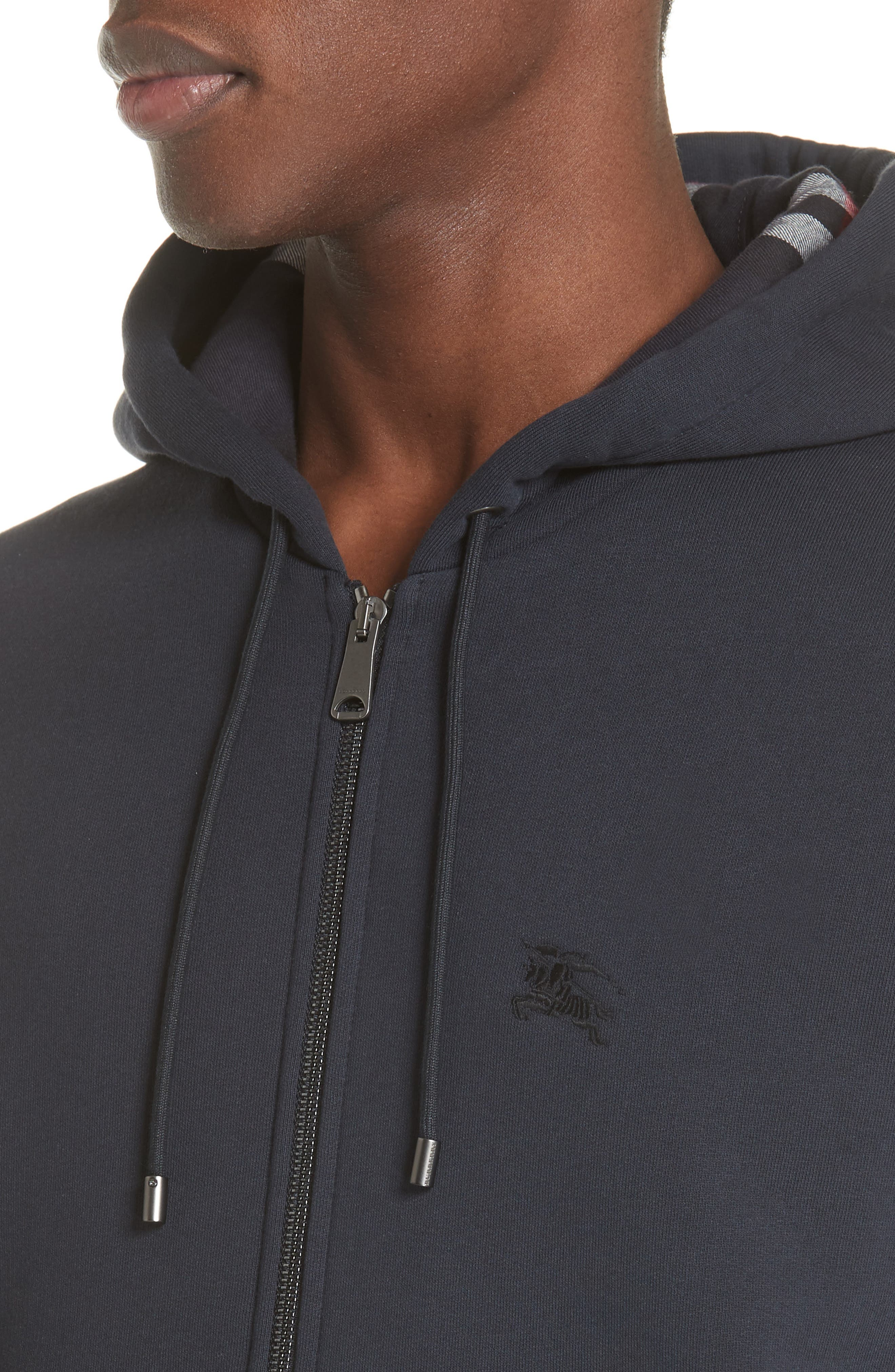 Zip Hoodie,                             Alternate thumbnail 4, color,                             NAVY