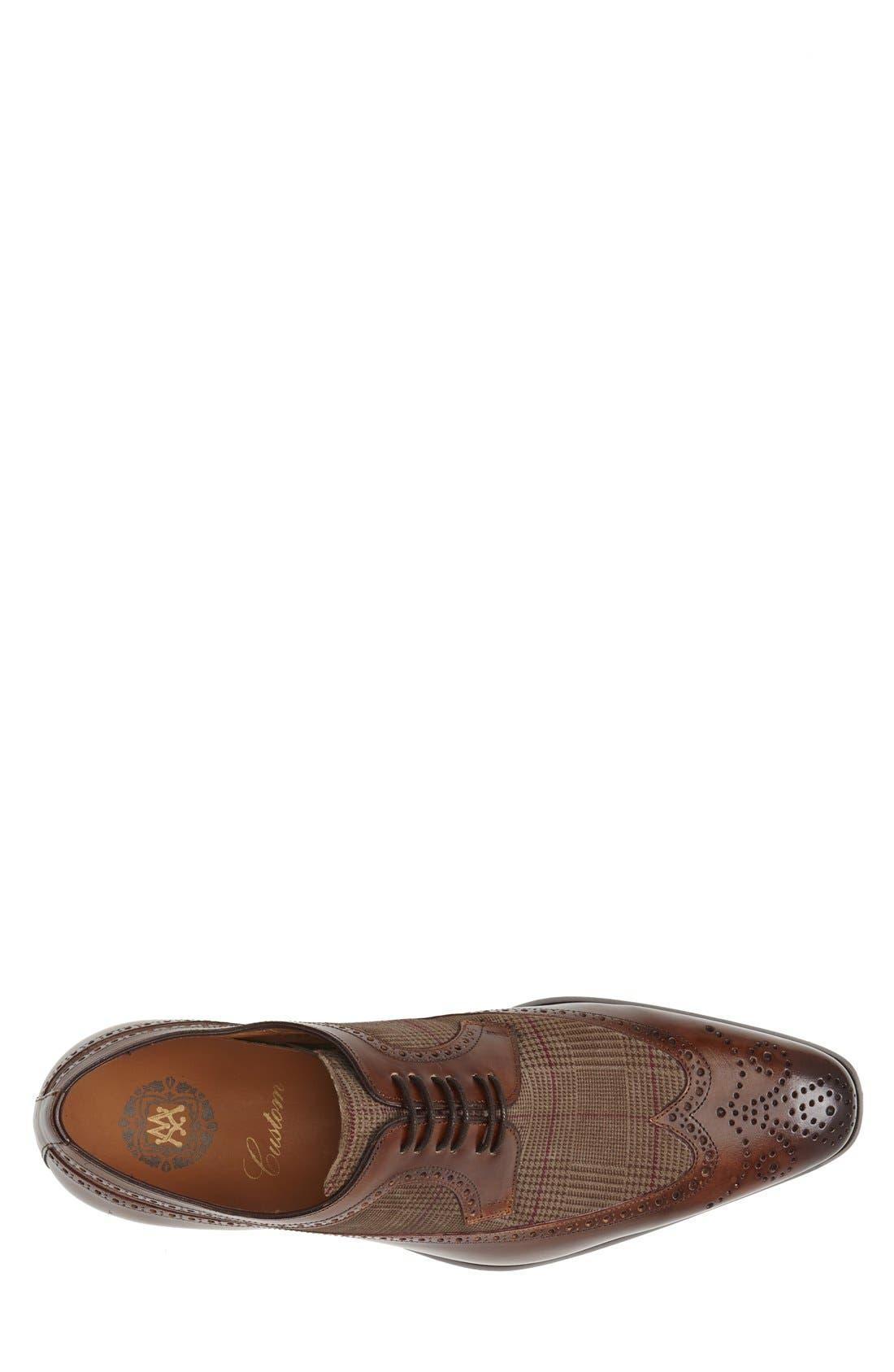 'Johann' Spectator Shoe,                             Alternate thumbnail 4, color,