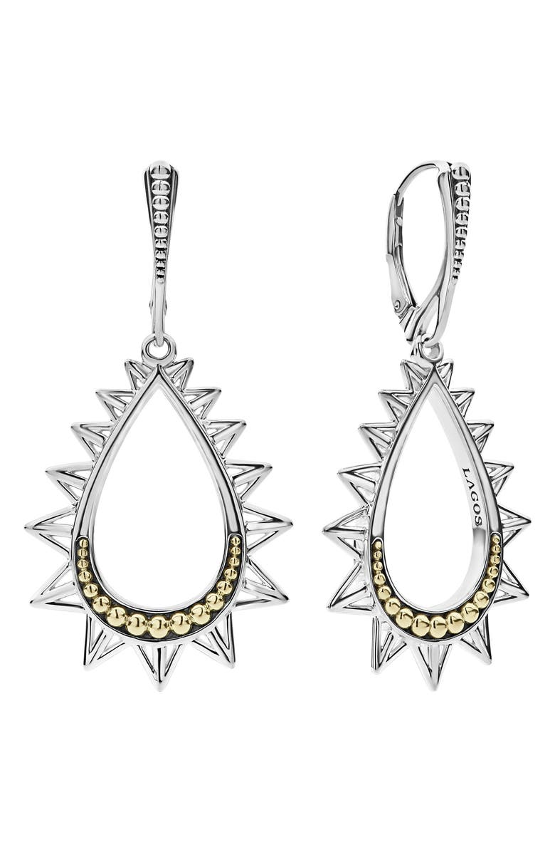 Lagos KSL SPIKED PEAR DROP EARRINGS