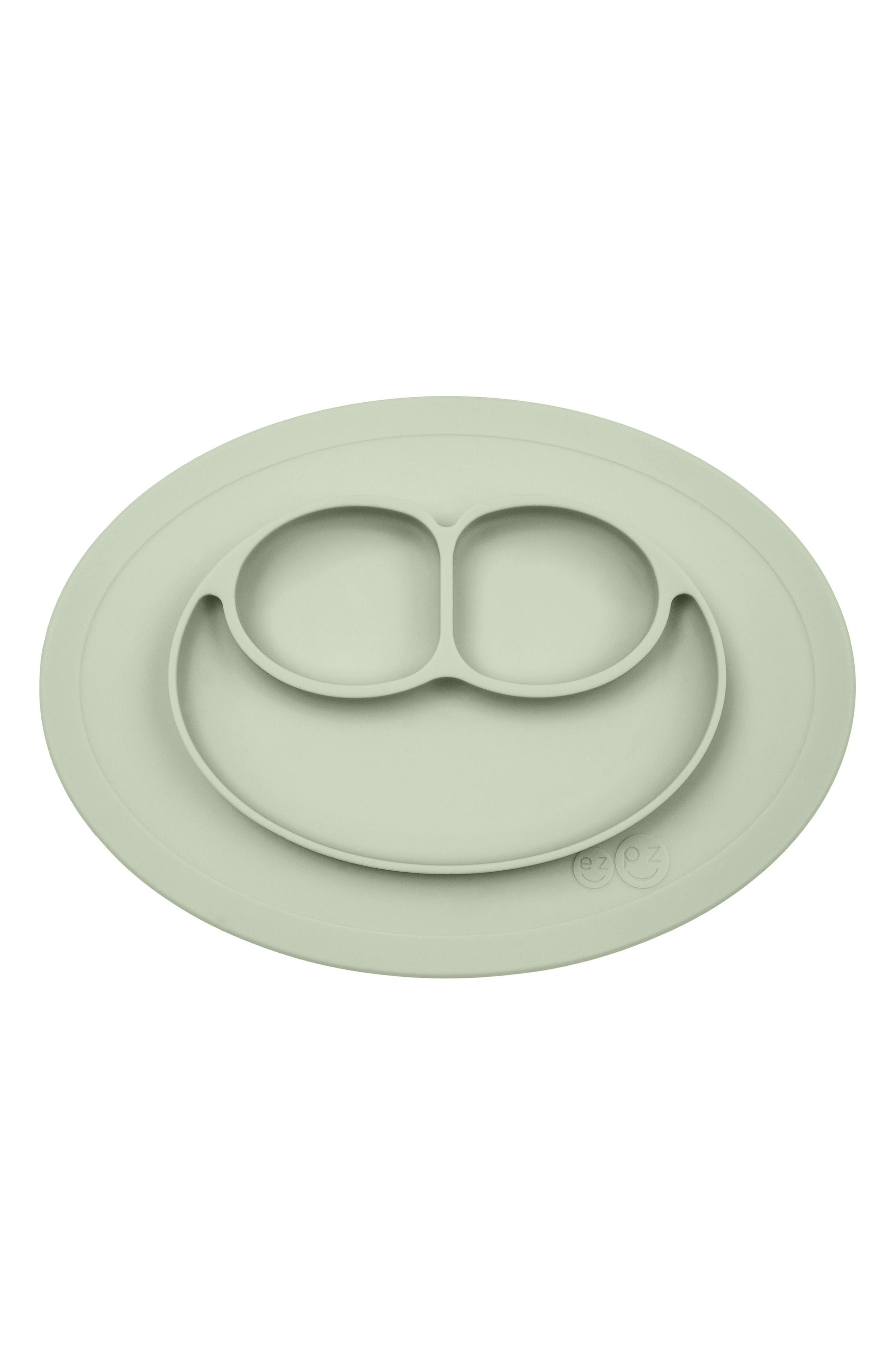 'Mini Mat' Silicone Feeding Mat,                         Main,                         color, SAGE