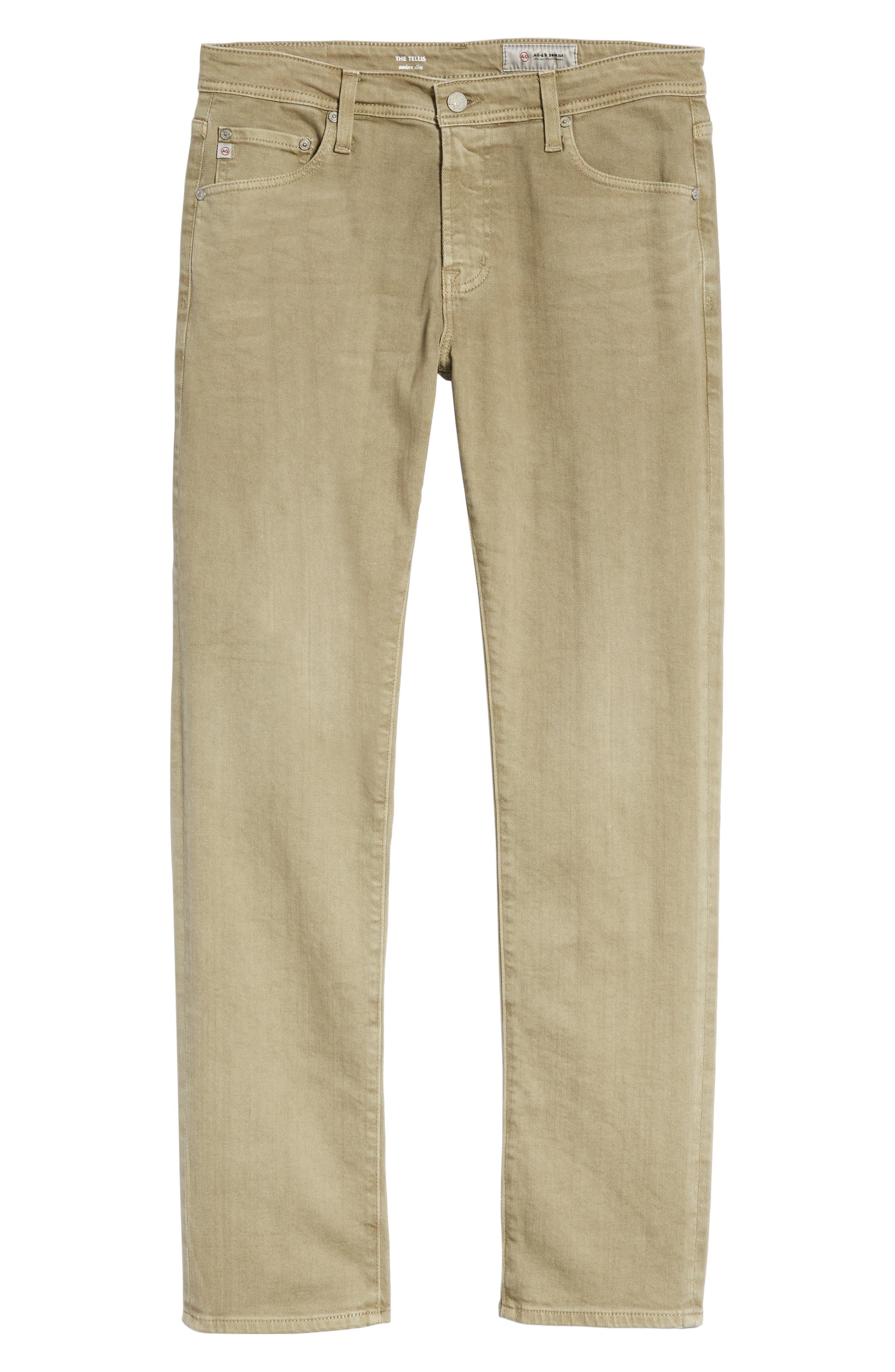 Tellis Slim Fit Jeans,                             Alternate thumbnail 6, color,                             316