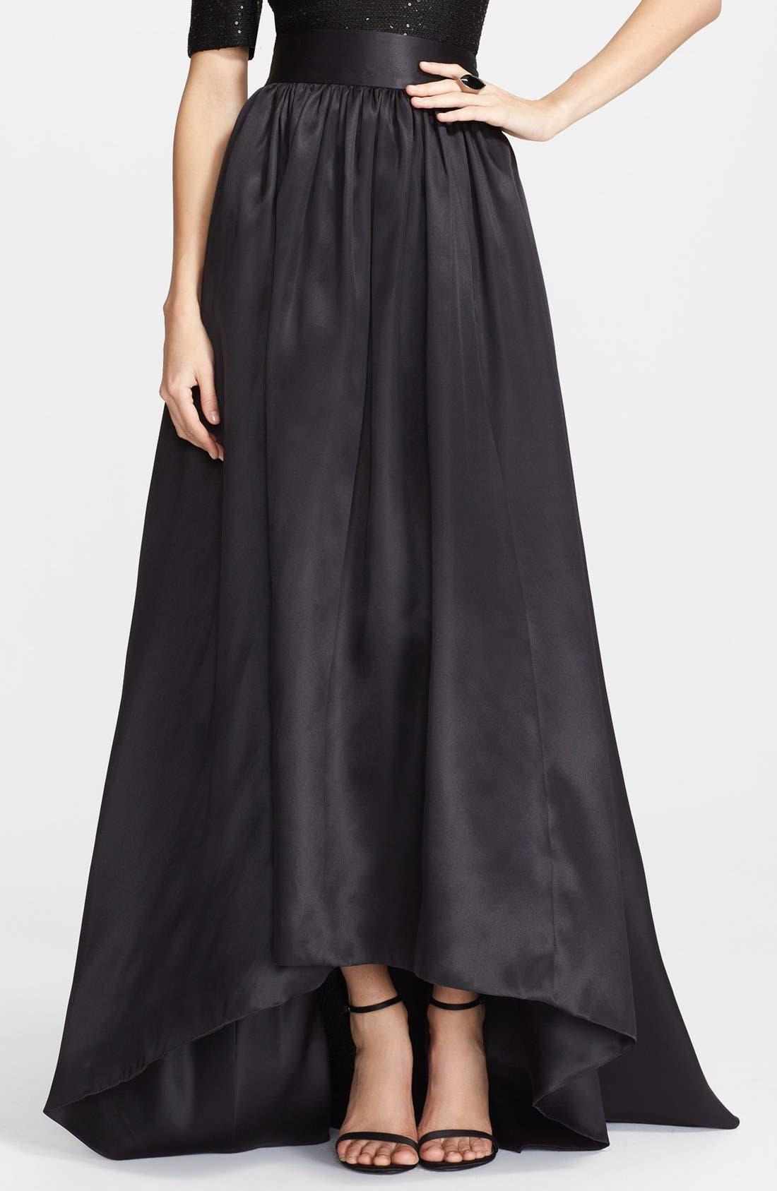 Satin Ball Gown Skirt
