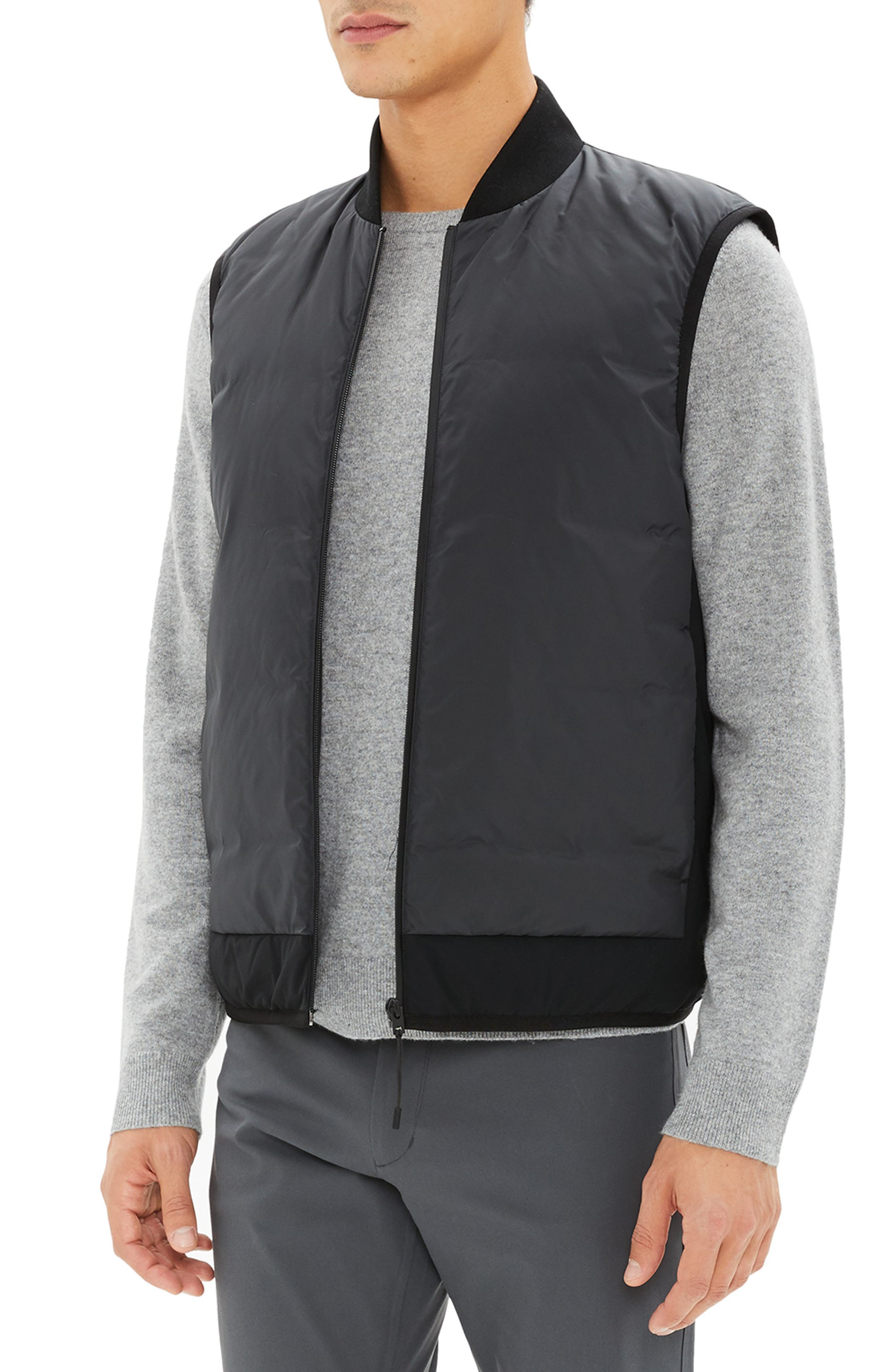 Greene Regular Fit Vest,                             Alternate thumbnail 3, color,                             001