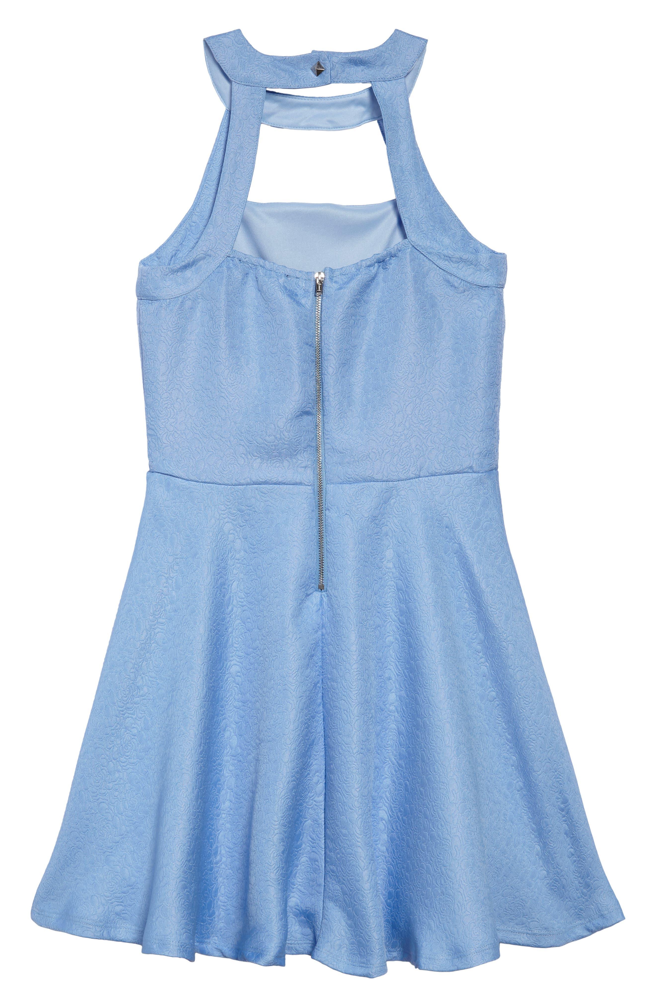 Harper Fit & Flare Dress,                             Alternate thumbnail 2, color,