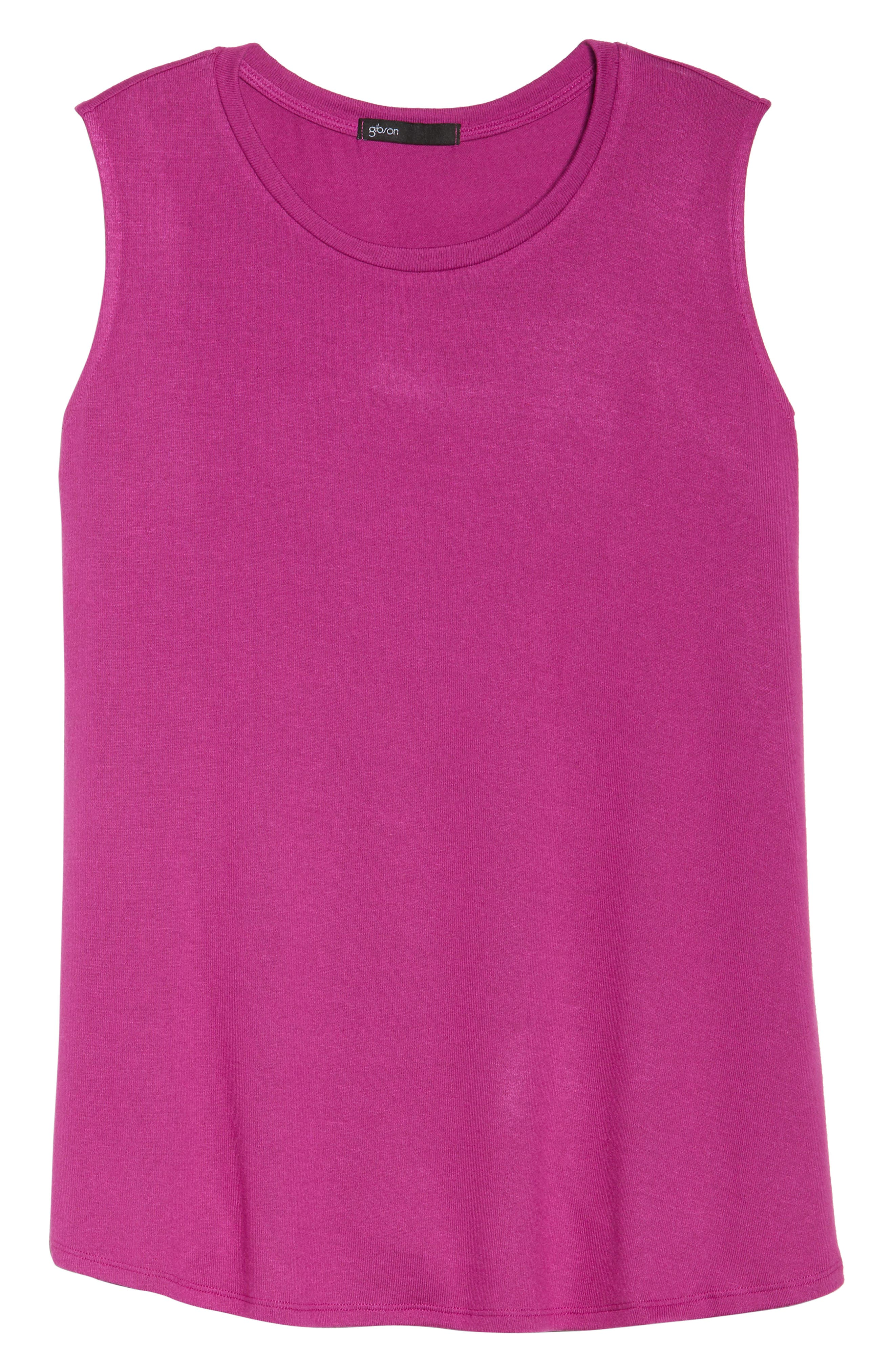 x Living in Yellow Millie Muscle Tank,                             Alternate thumbnail 13, color,