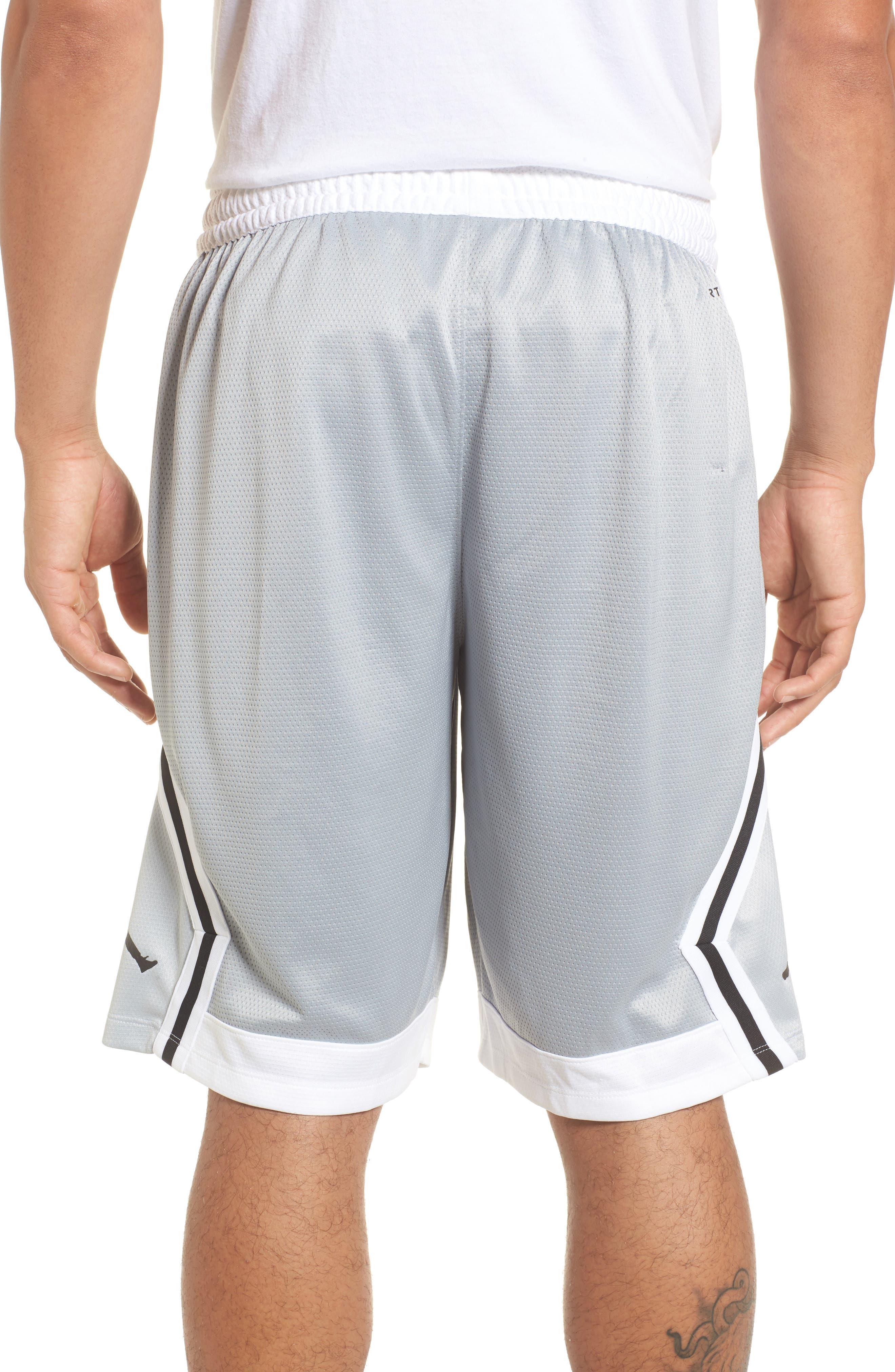 Sportswear Rise Diamond Shorts,                             Alternate thumbnail 2, color,                             011