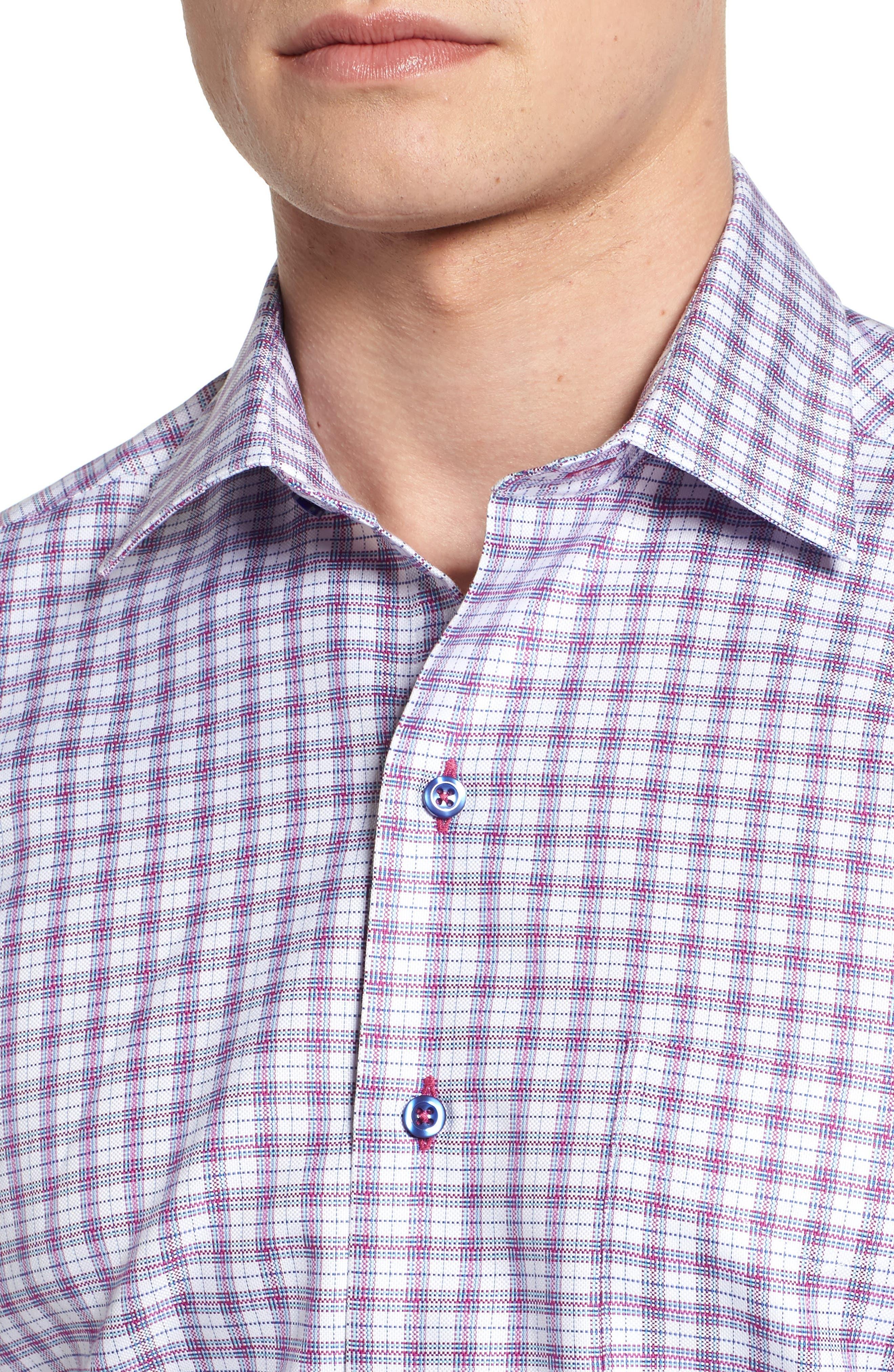 Sport Shirt,                             Alternate thumbnail 4, color,                             652