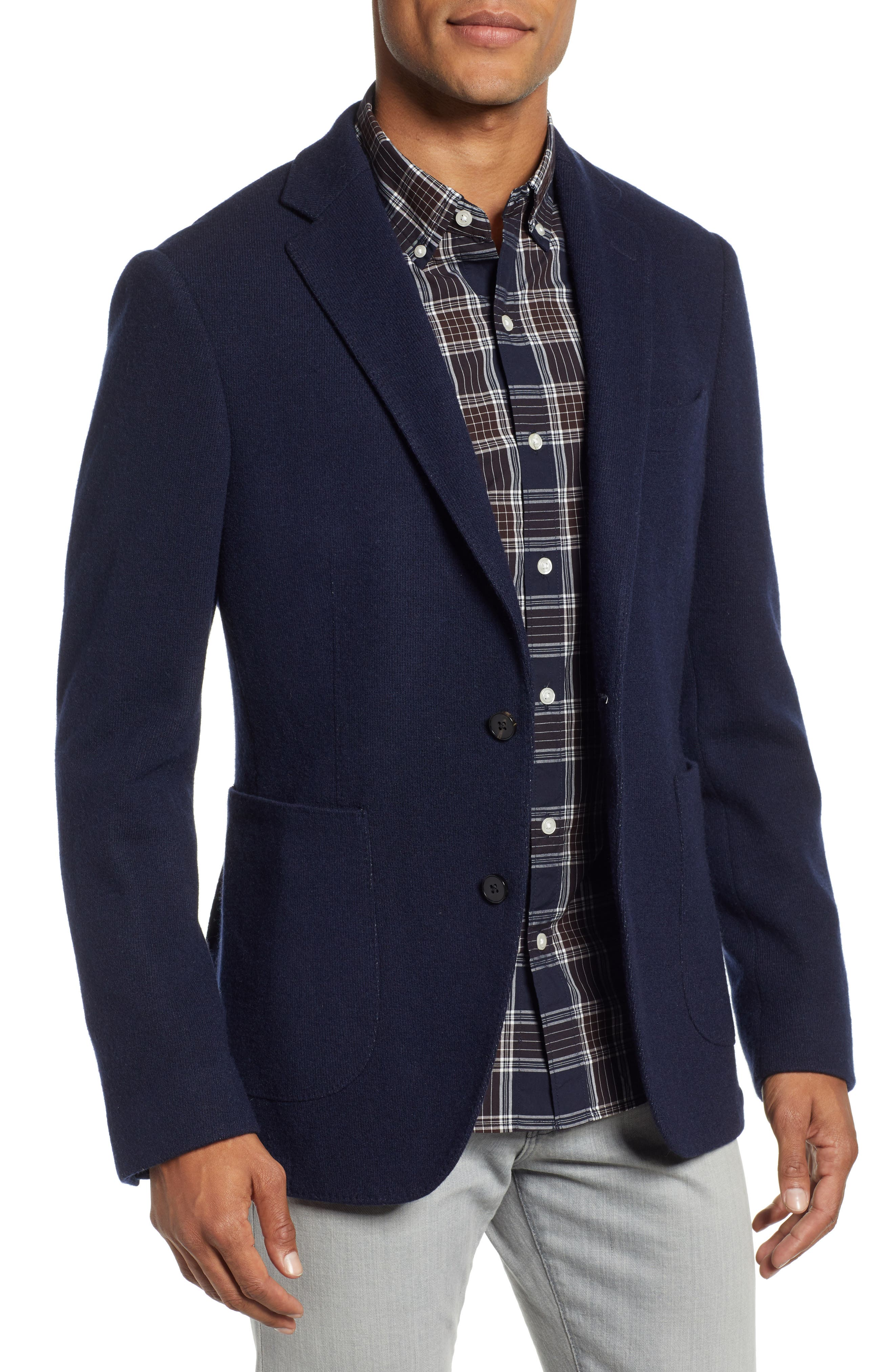 Men's Rodd & Gunn Maud Island Regular Fit Sport Coat, Size Small - Blue