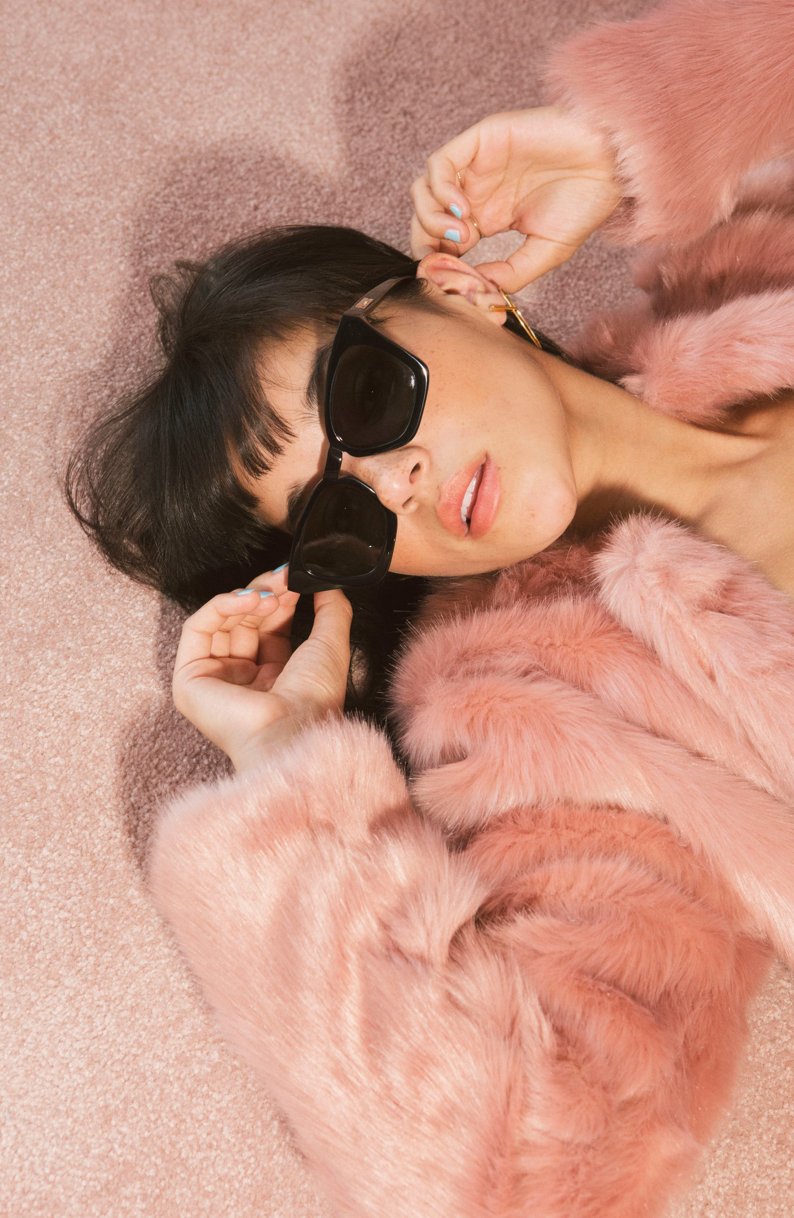 Ginza 50mm Cat Eye Sunglasses,                             Alternate thumbnail 21, color,