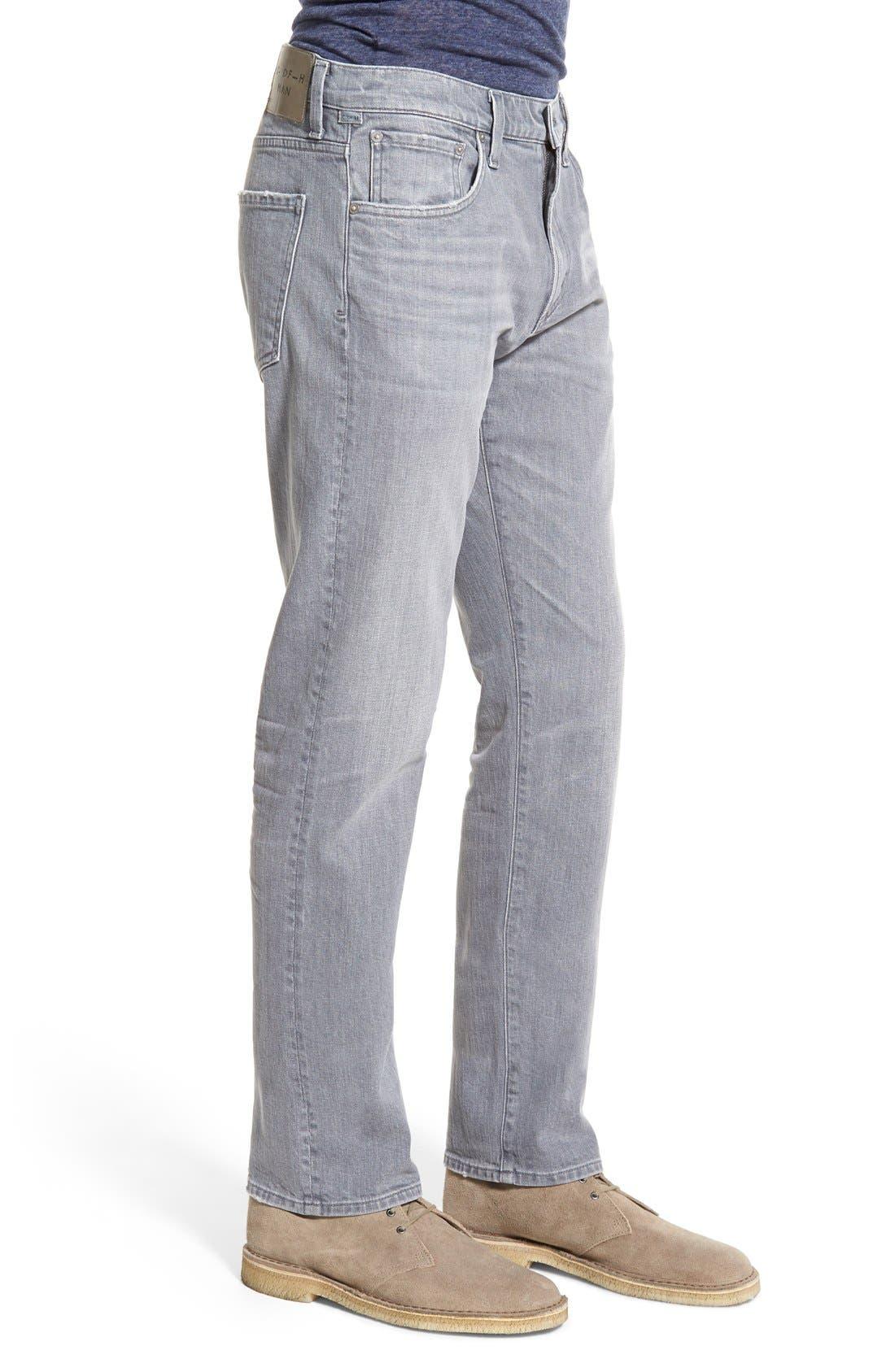 'Gage' Slim Straight Leg Jeans,                             Alternate thumbnail 5, color,                             AKRON