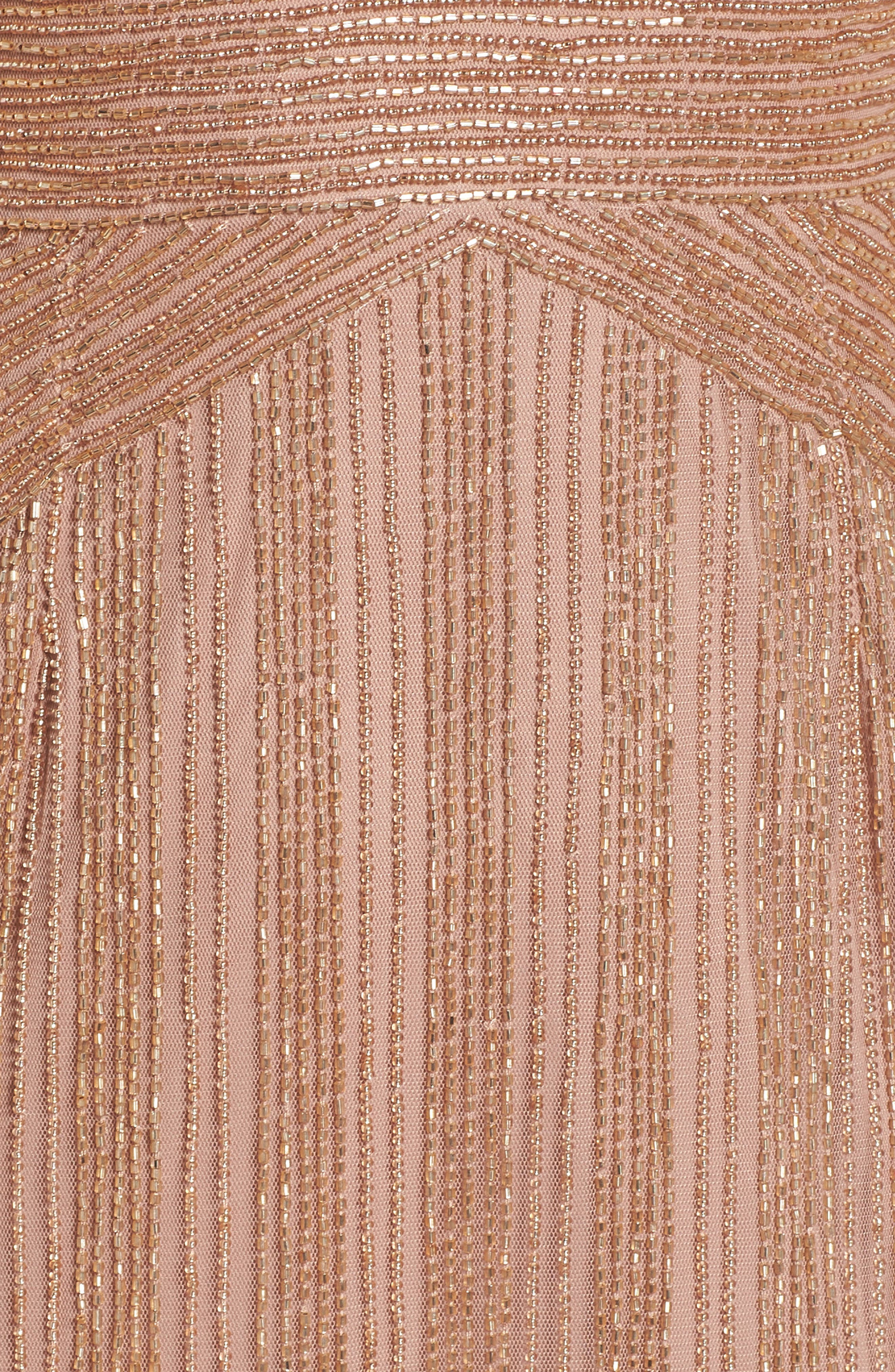 Beaded Gown,                             Alternate thumbnail 5, color,                             220