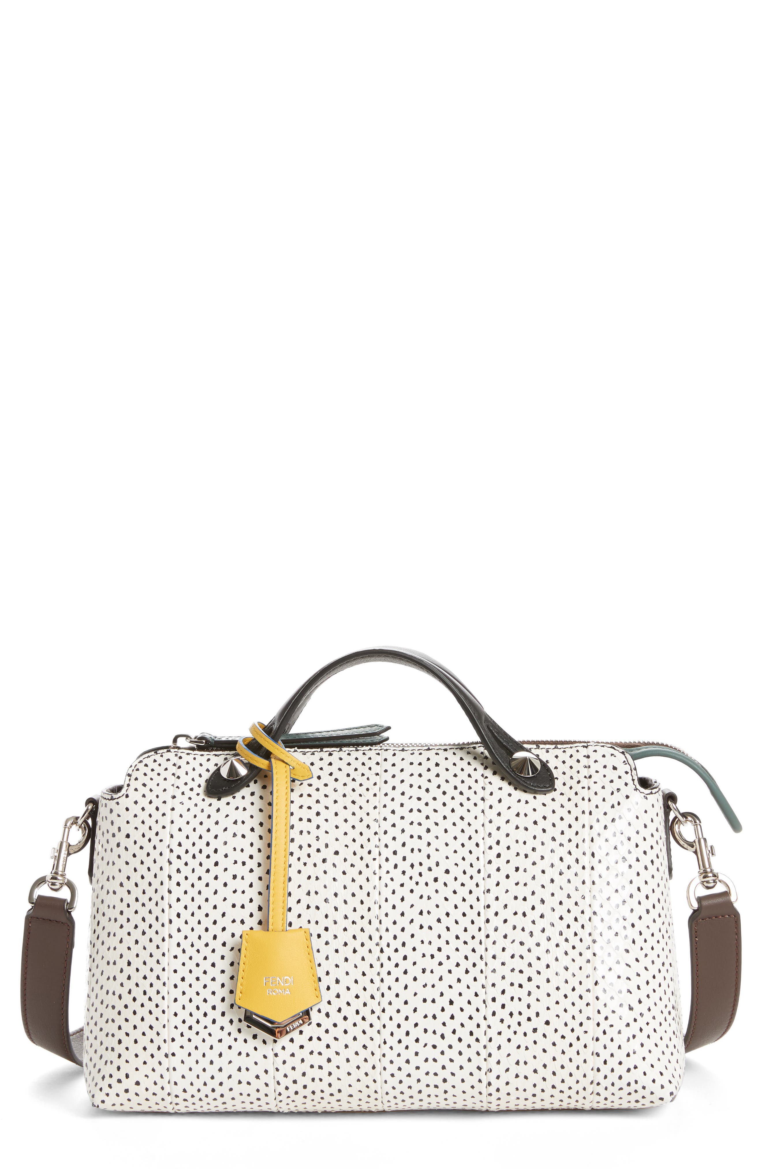 Medium By the Way Genuine Snakeskin Satchel,                             Alternate thumbnail 2, color,                             143