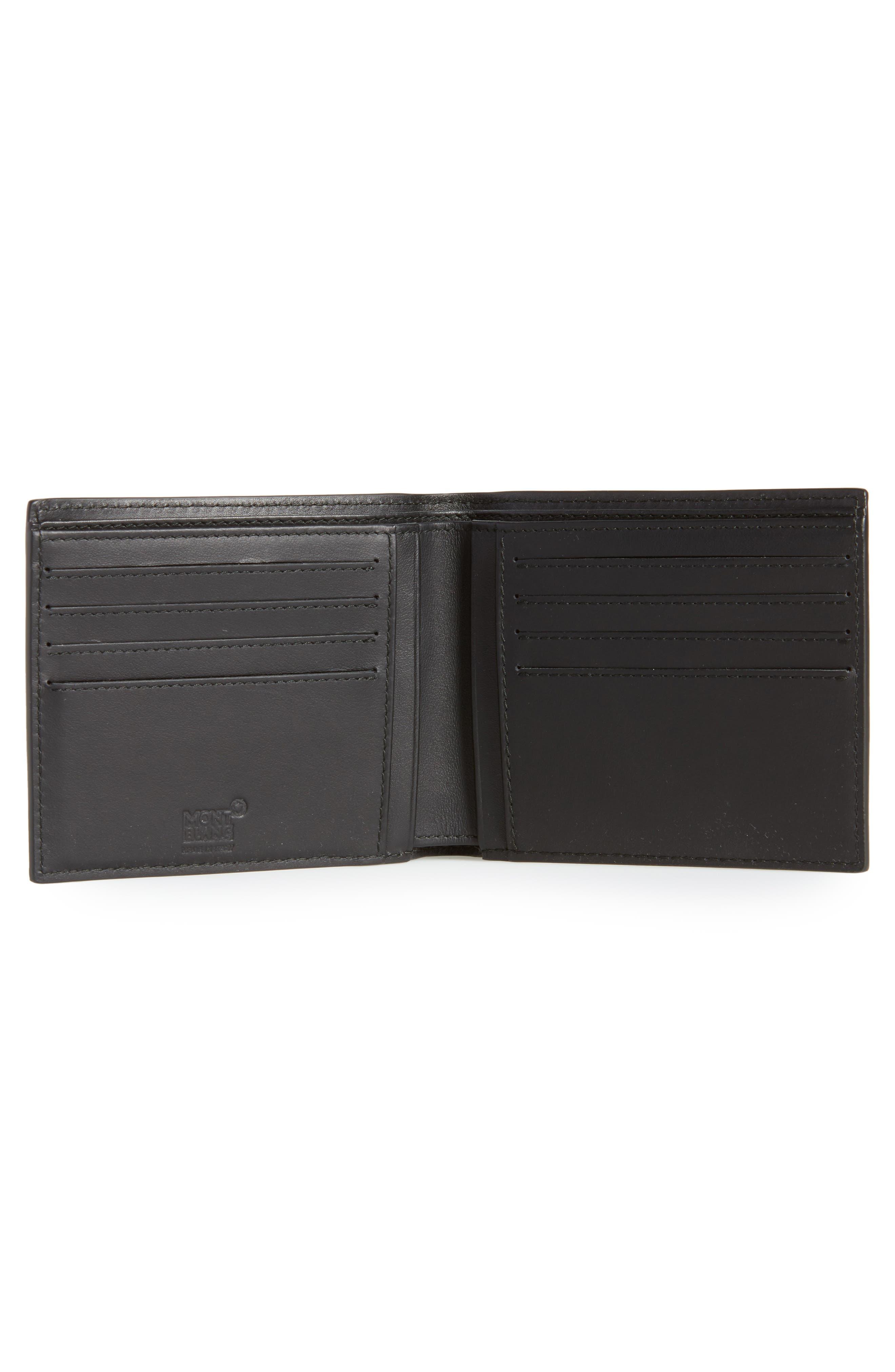 Extreme Leather Wallet,                             Alternate thumbnail 2, color,                             BLACK
