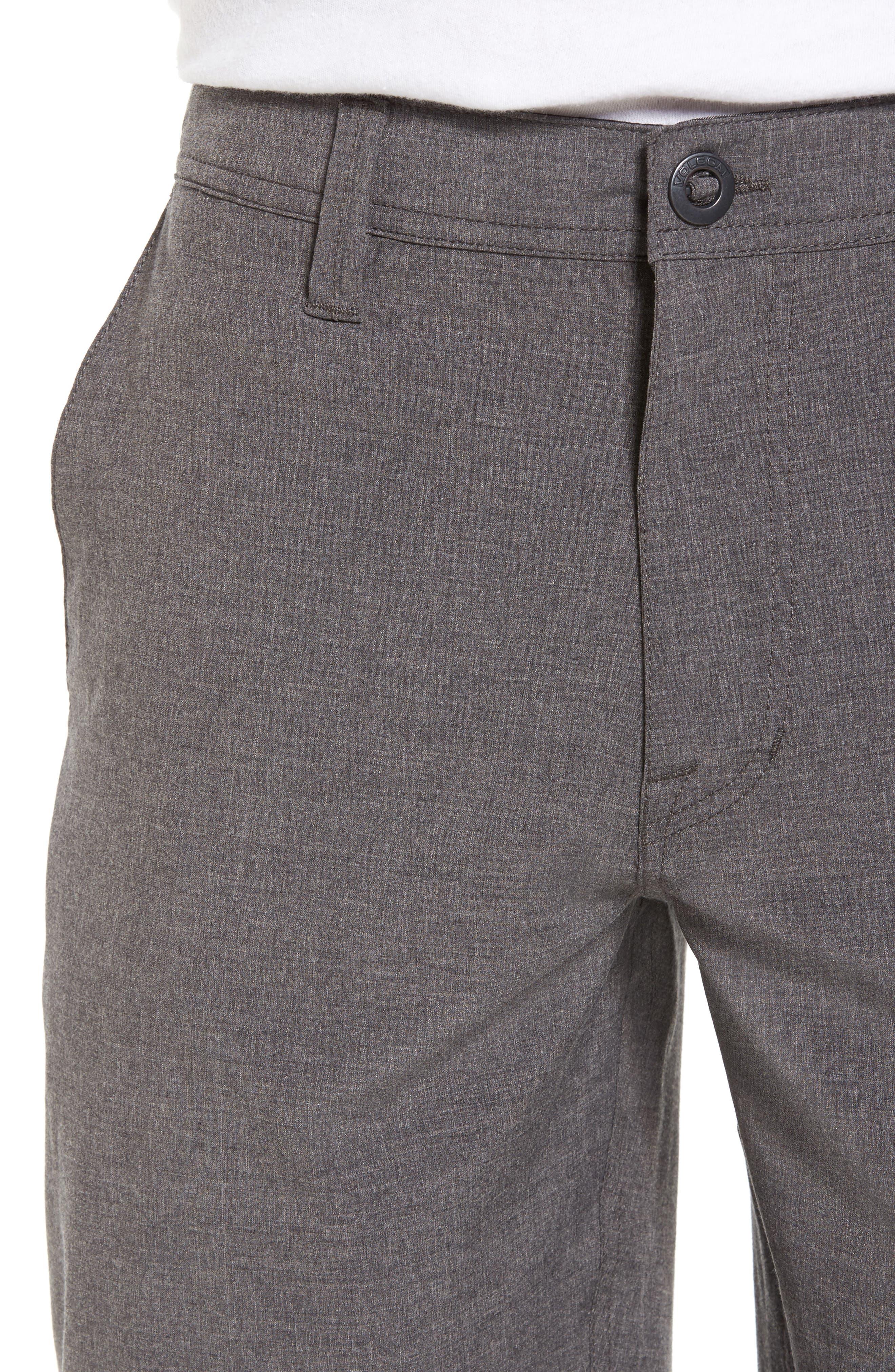 Hybrid Shorts,                             Alternate thumbnail 4, color,                             CHARCOAL