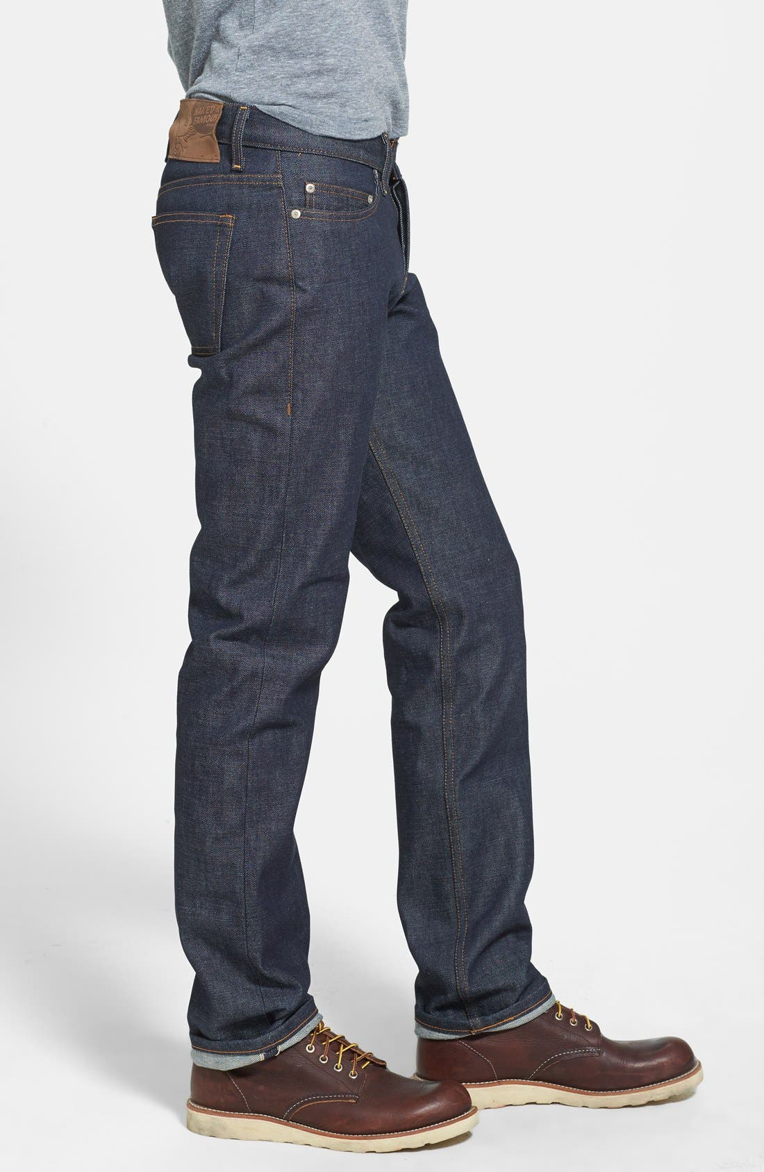 'Weird Guy' Slim Fit Jeans,                             Alternate thumbnail 3, color,                             401