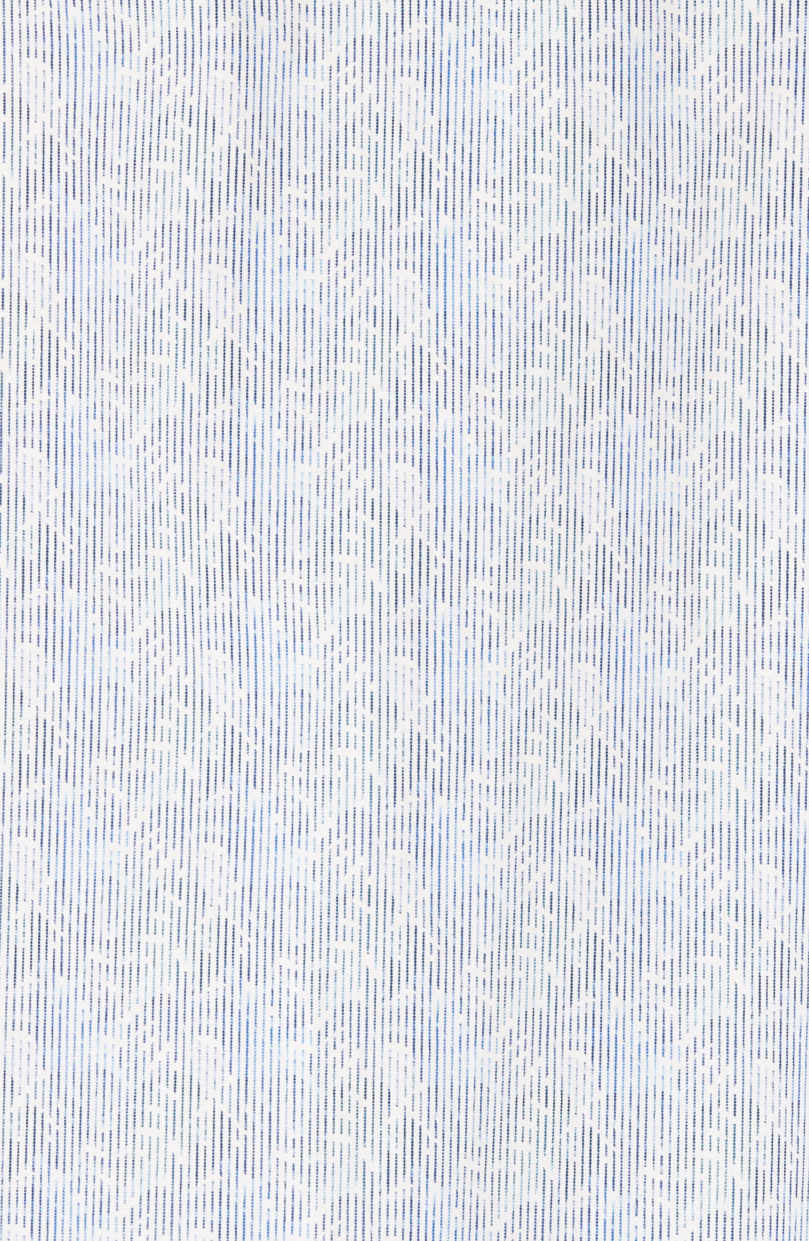 Shaped Fit Impression Print Sport Shirt,                             Alternate thumbnail 5, color,                             420