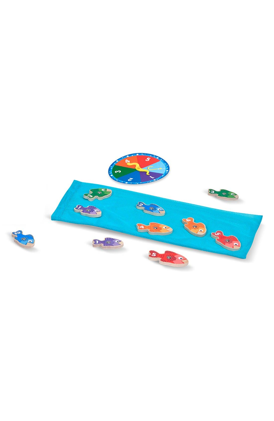 MELISSA & DOUG,                             'Catch & Count' Fishing Game,                             Alternate thumbnail 3, color,                             BLUE MULTI
