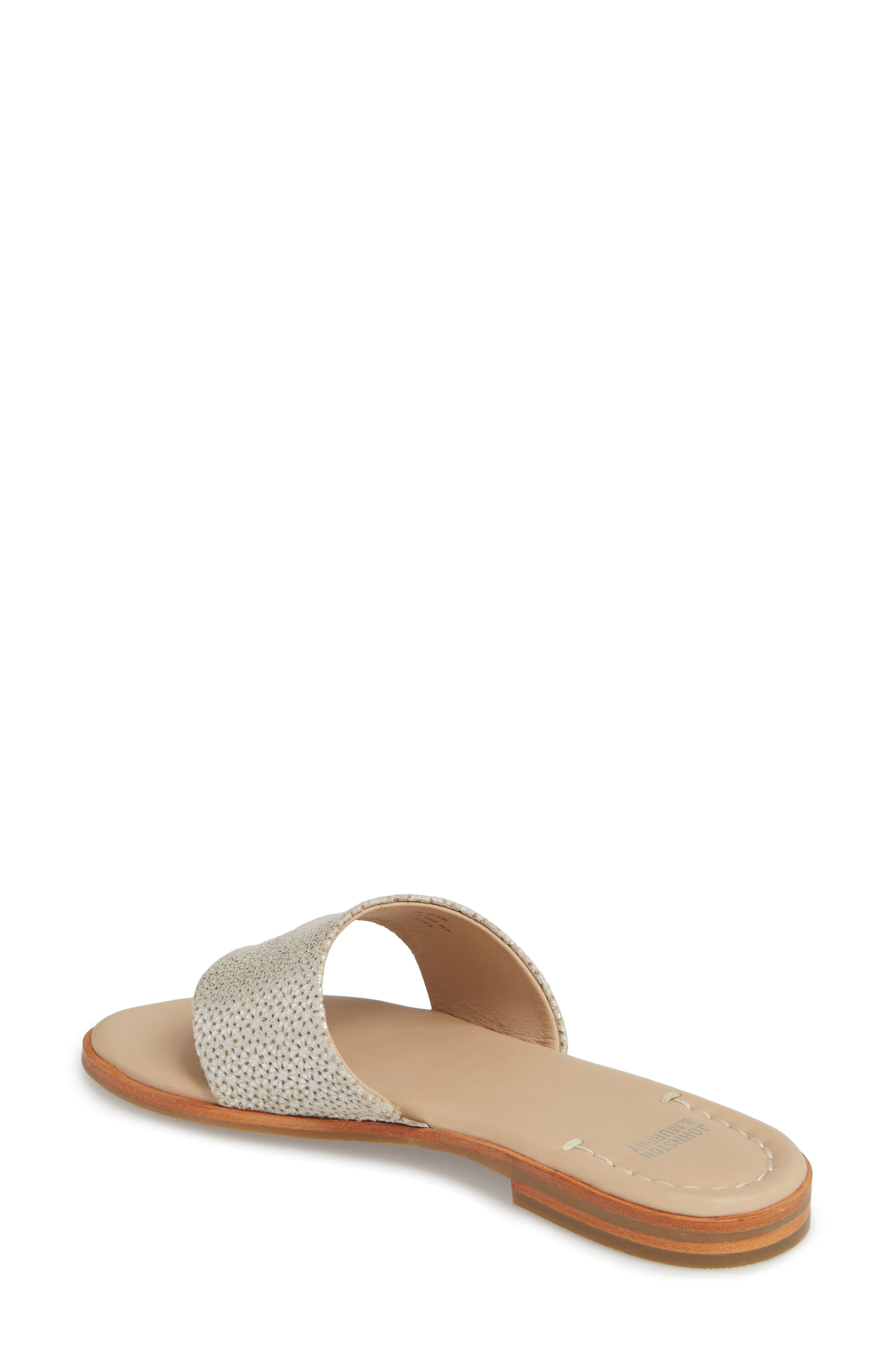 Raney Flip Flop,                             Alternate thumbnail 2, color,                             SILVER LASER CUT SUEDE