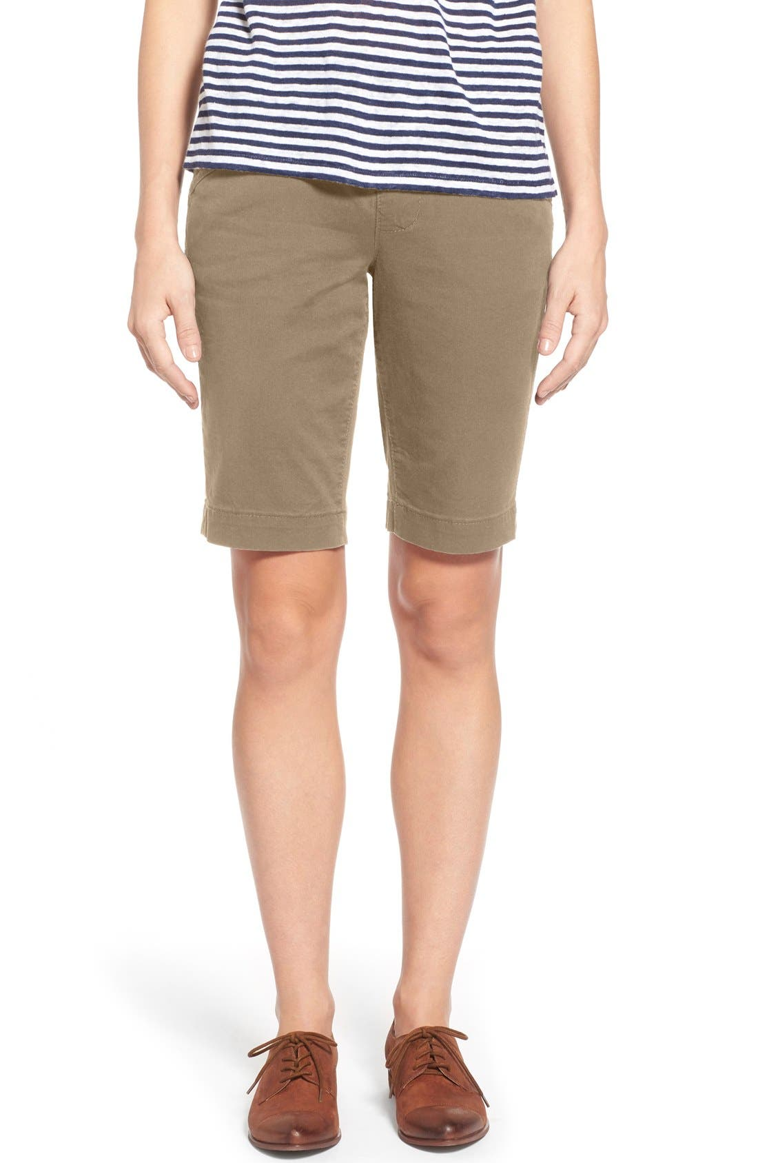 'Ainsley' Slim Bermuda Shorts,                             Main thumbnail 5, color,