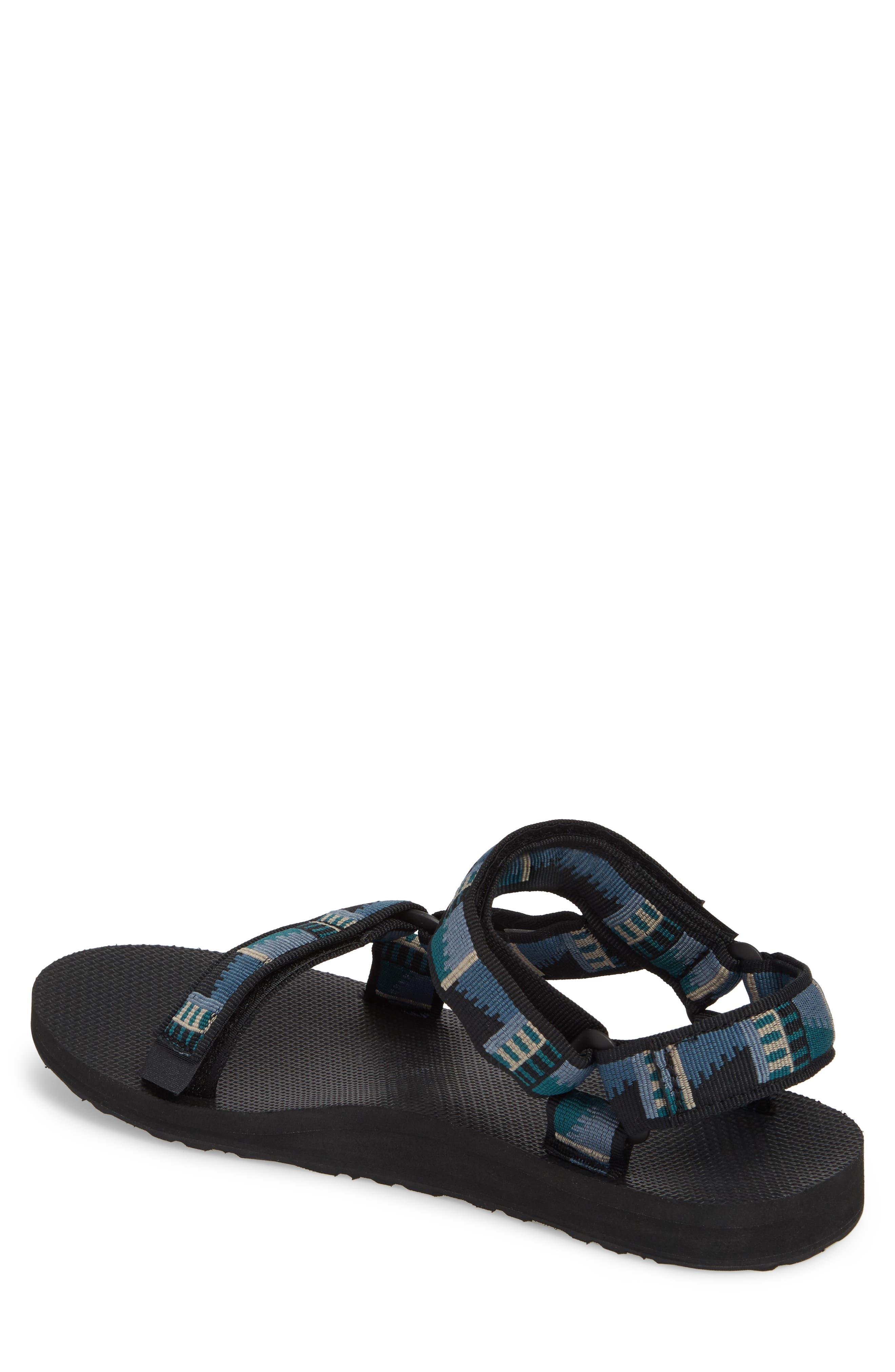 Original Universal Sandal,                             Alternate thumbnail 2, color,                             BLACK NYLON