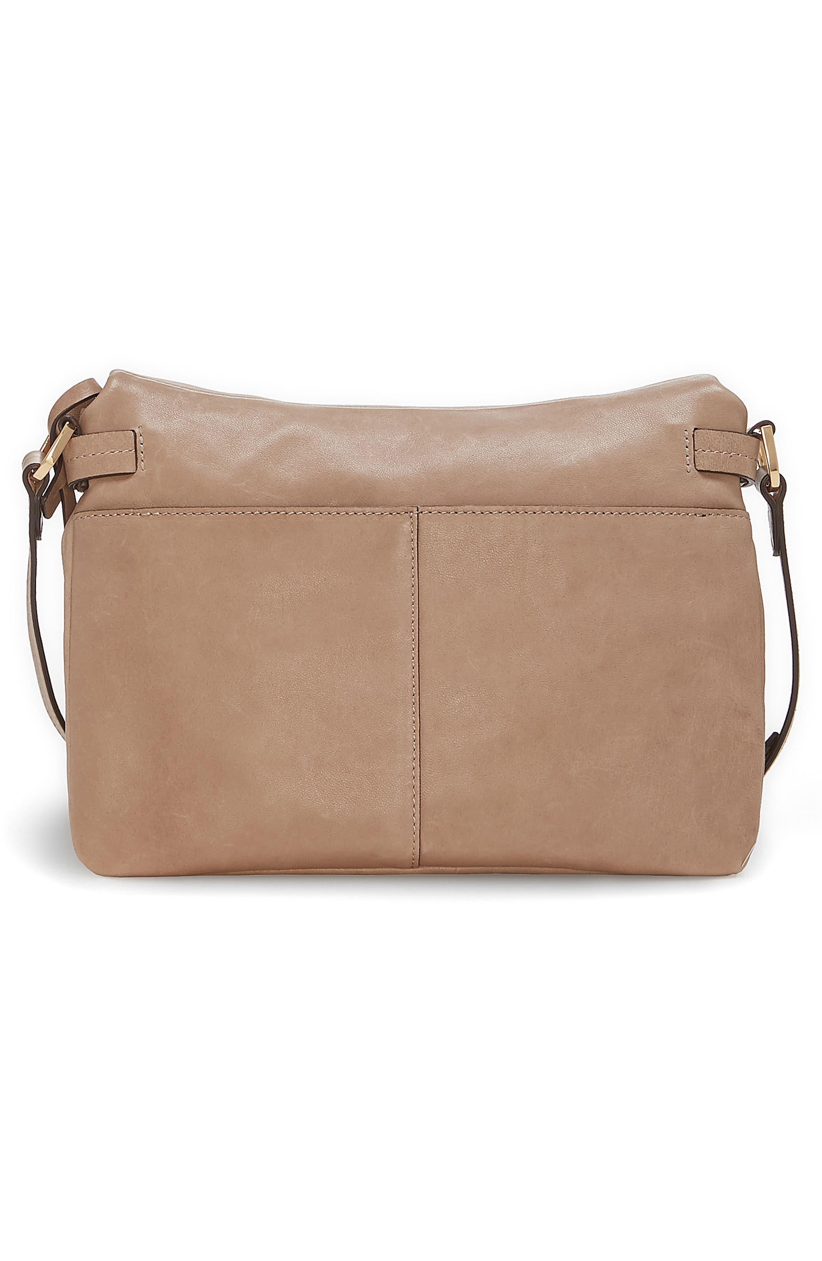 Alder Leather Crossbody Bag,                             Alternate thumbnail 6, color,