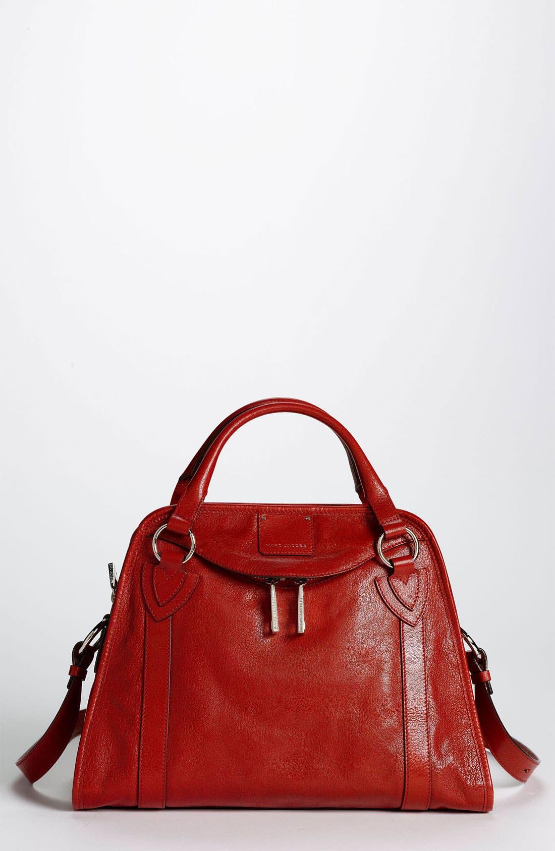 'Classic Wellington' Leather Satchel,                             Main thumbnail 10, color,