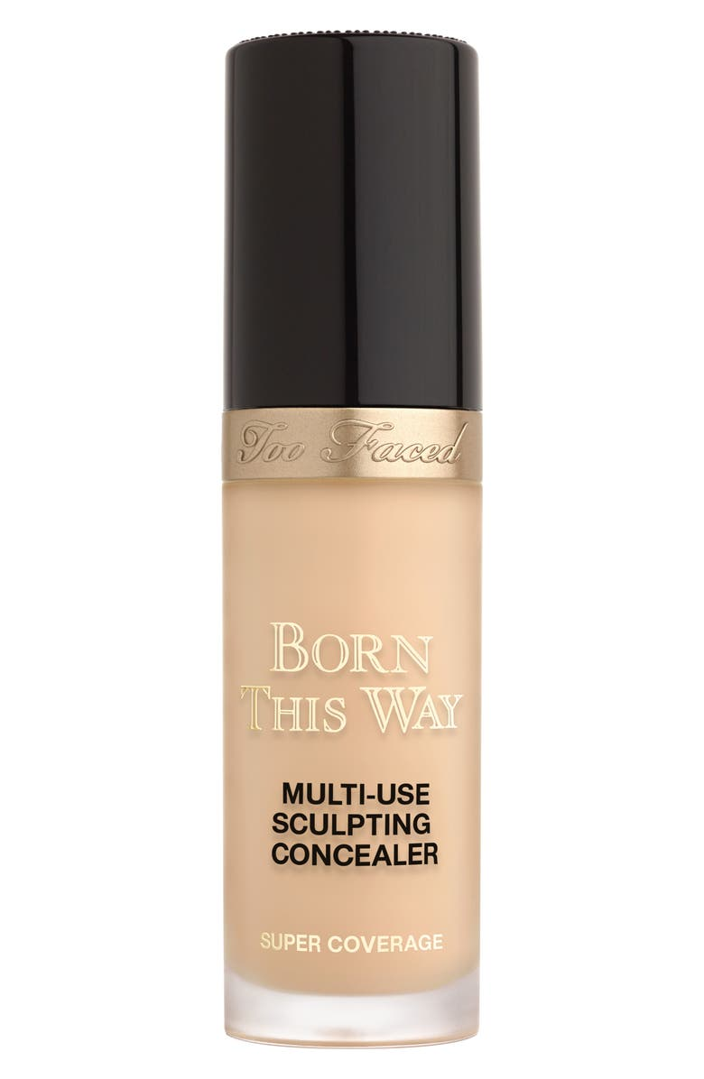 Too Faced BORN THIS WAY SUPER COVERAGE MULTI-USE SCULPTING CONCEALER, 0.5 oz