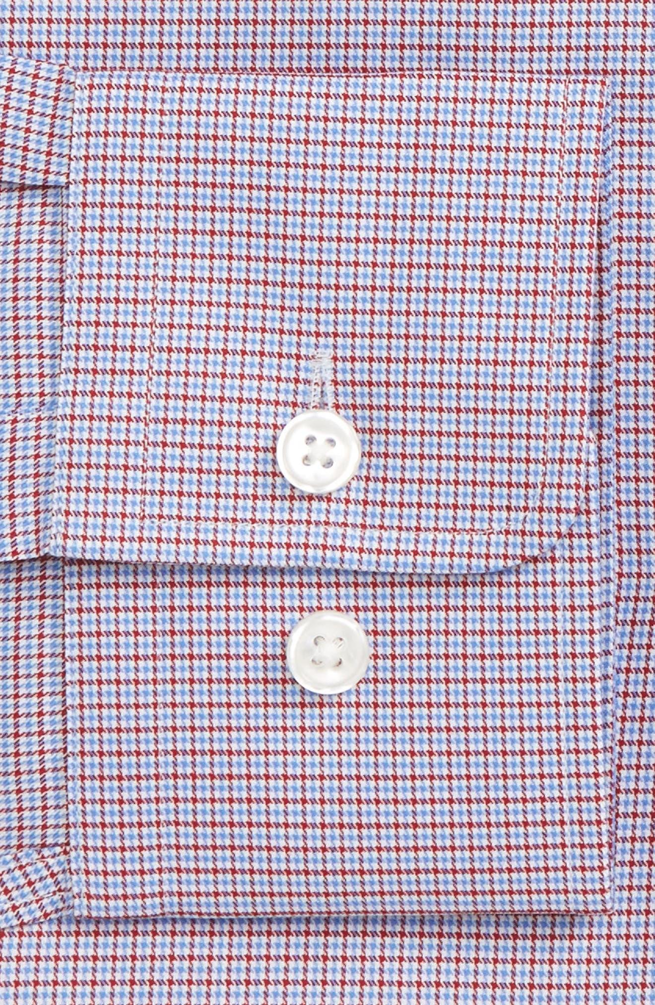 Marley Sharp Fit Microcheck Dress Shirt,                             Alternate thumbnail 2, color,                             611