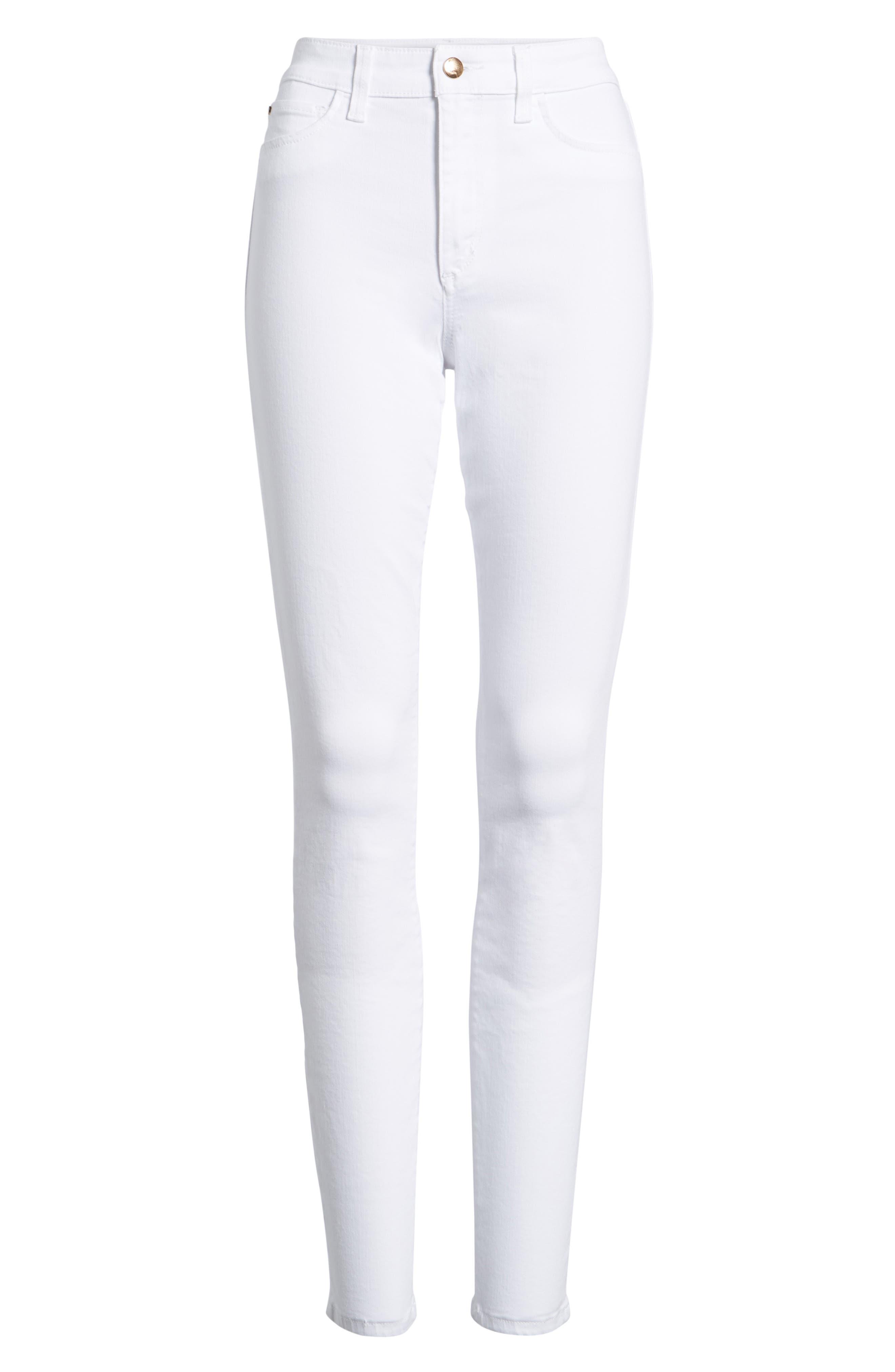 Charlie Skinny Jeans,                             Alternate thumbnail 7, color,                             HENNIE