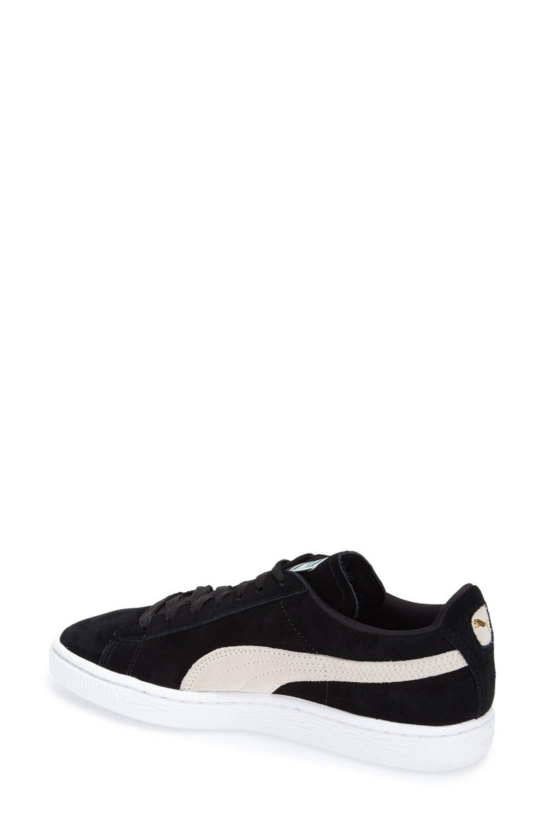 Suede Sneaker,                             Alternate thumbnail 34, color,
