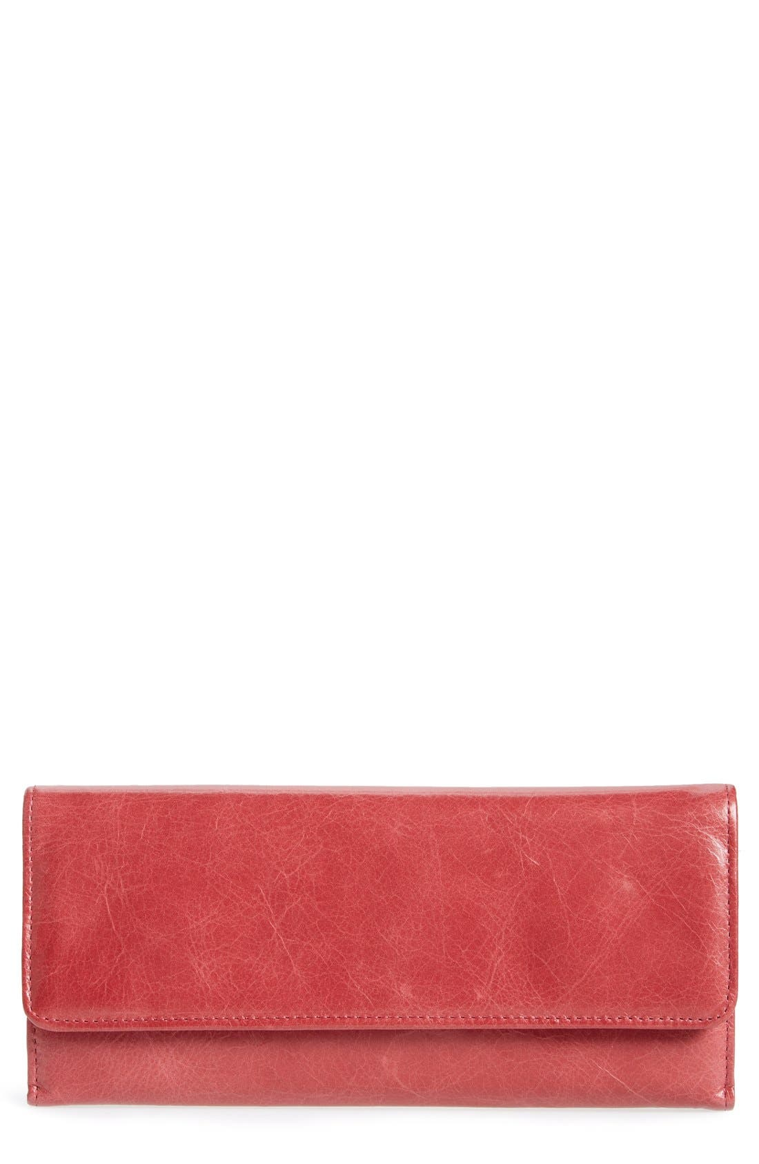 'Sadie' Leather Wallet,                             Main thumbnail 56, color,