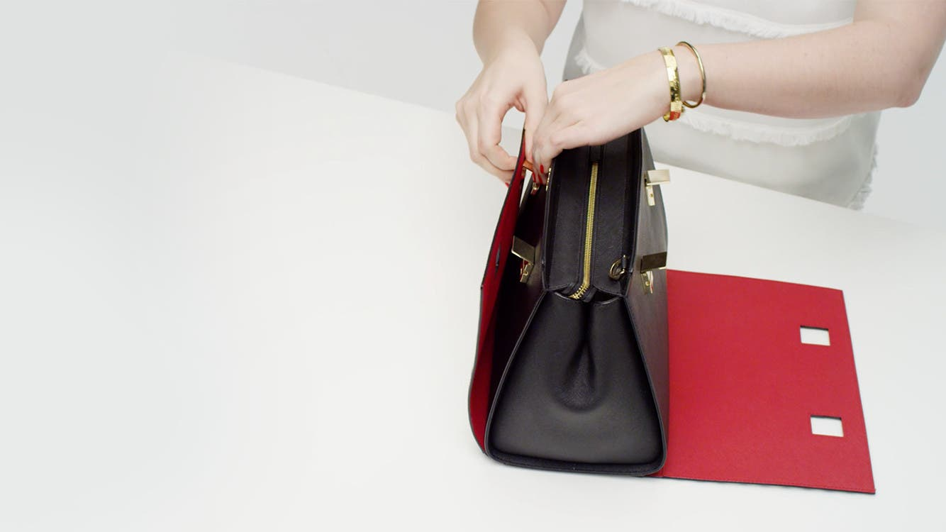 Play video to learn how to customize the Candace Satchel.