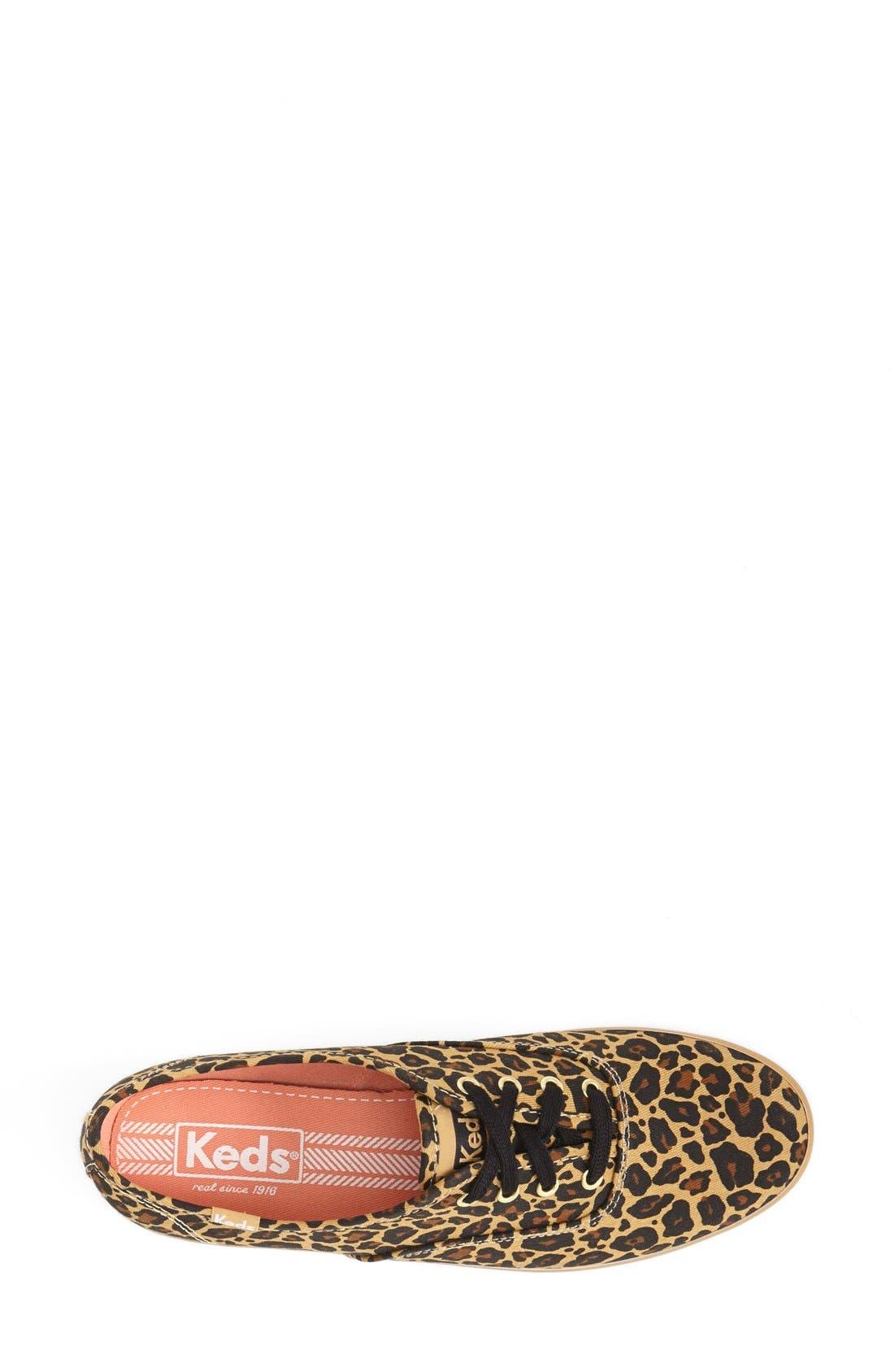 KEDS<SUP>®</SUP>,                             'Champion' Leopard Print Sneaker,                             Alternate thumbnail 2, color,                             230