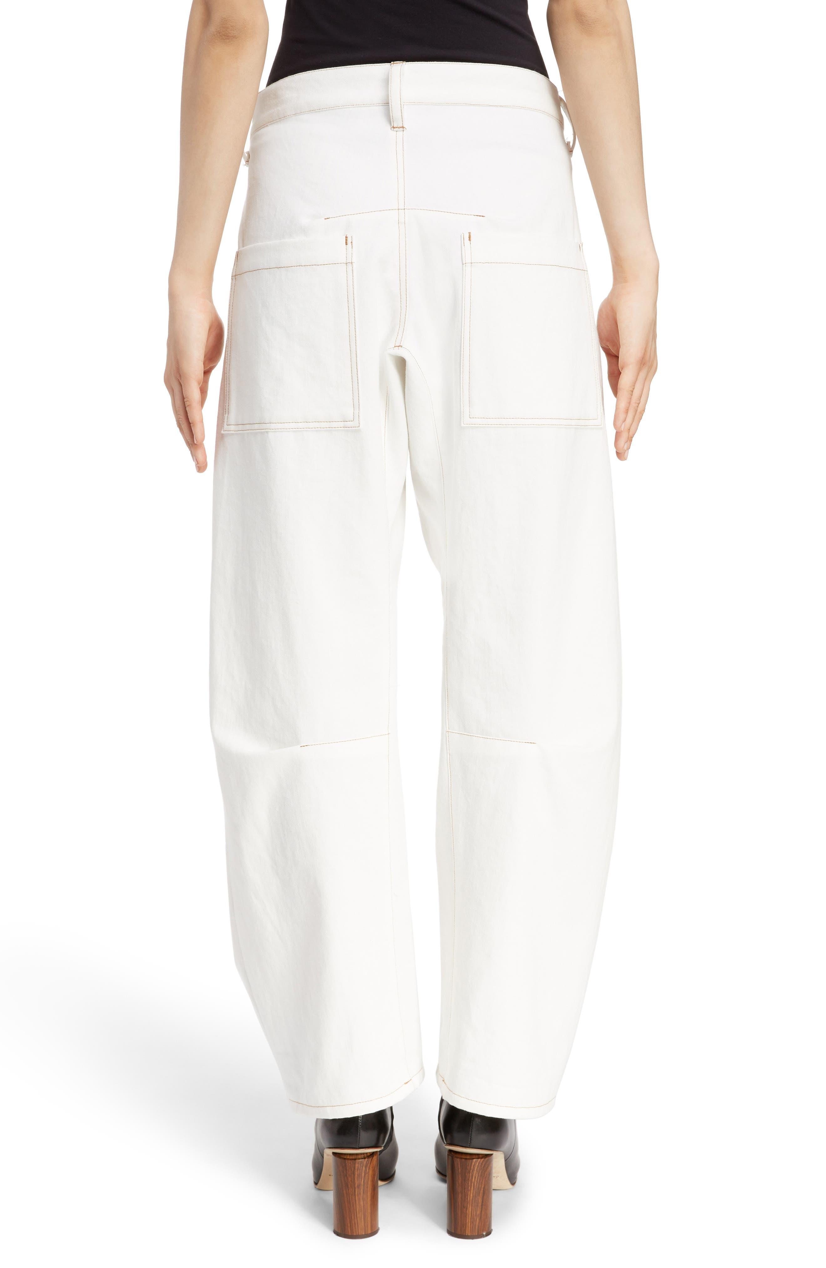 Wide Leg Pants,                             Alternate thumbnail 2, color,                             WHITE