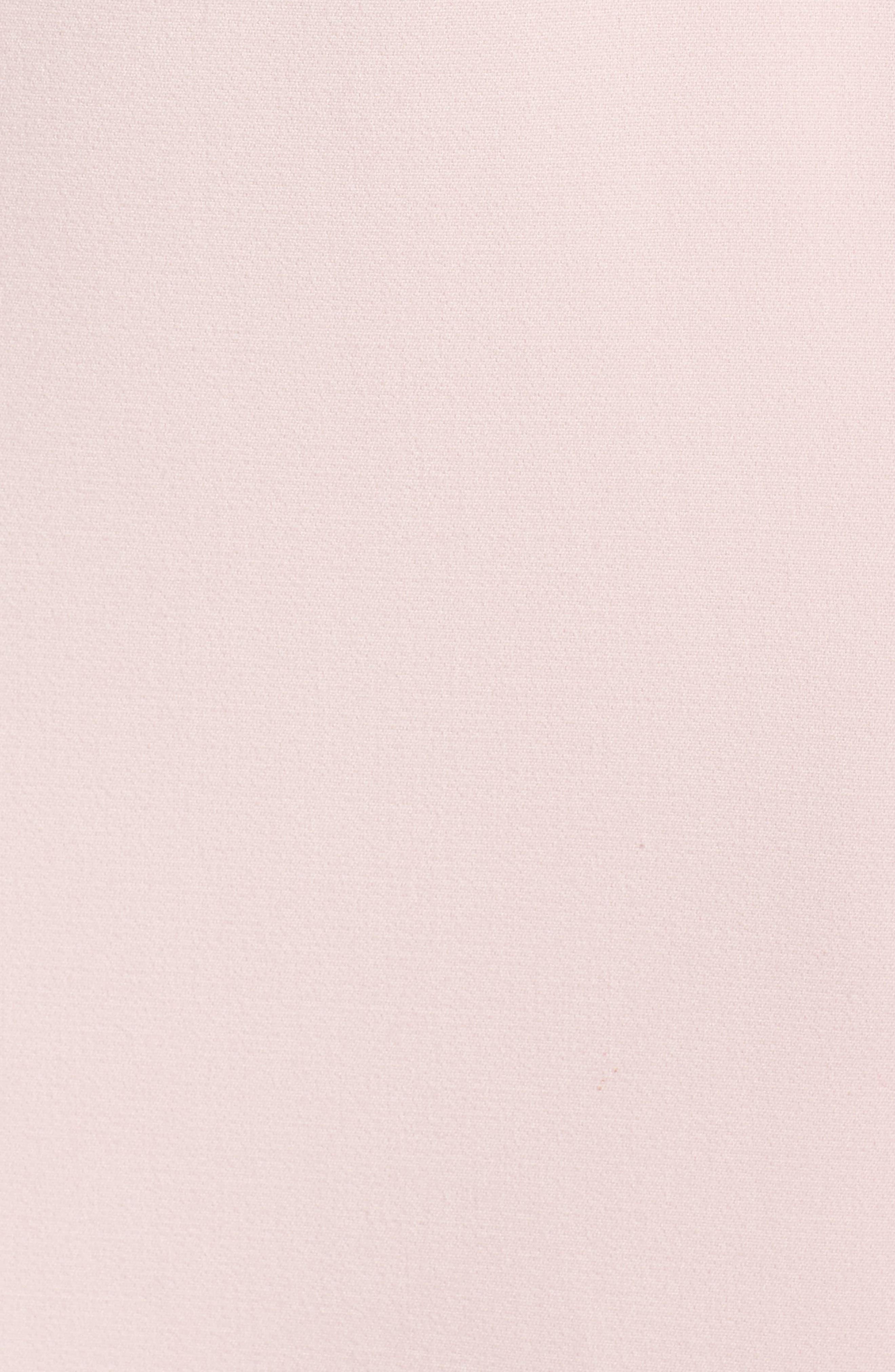 Cap Sleeve Crepe Sheath Dress,                             Alternate thumbnail 12, color,