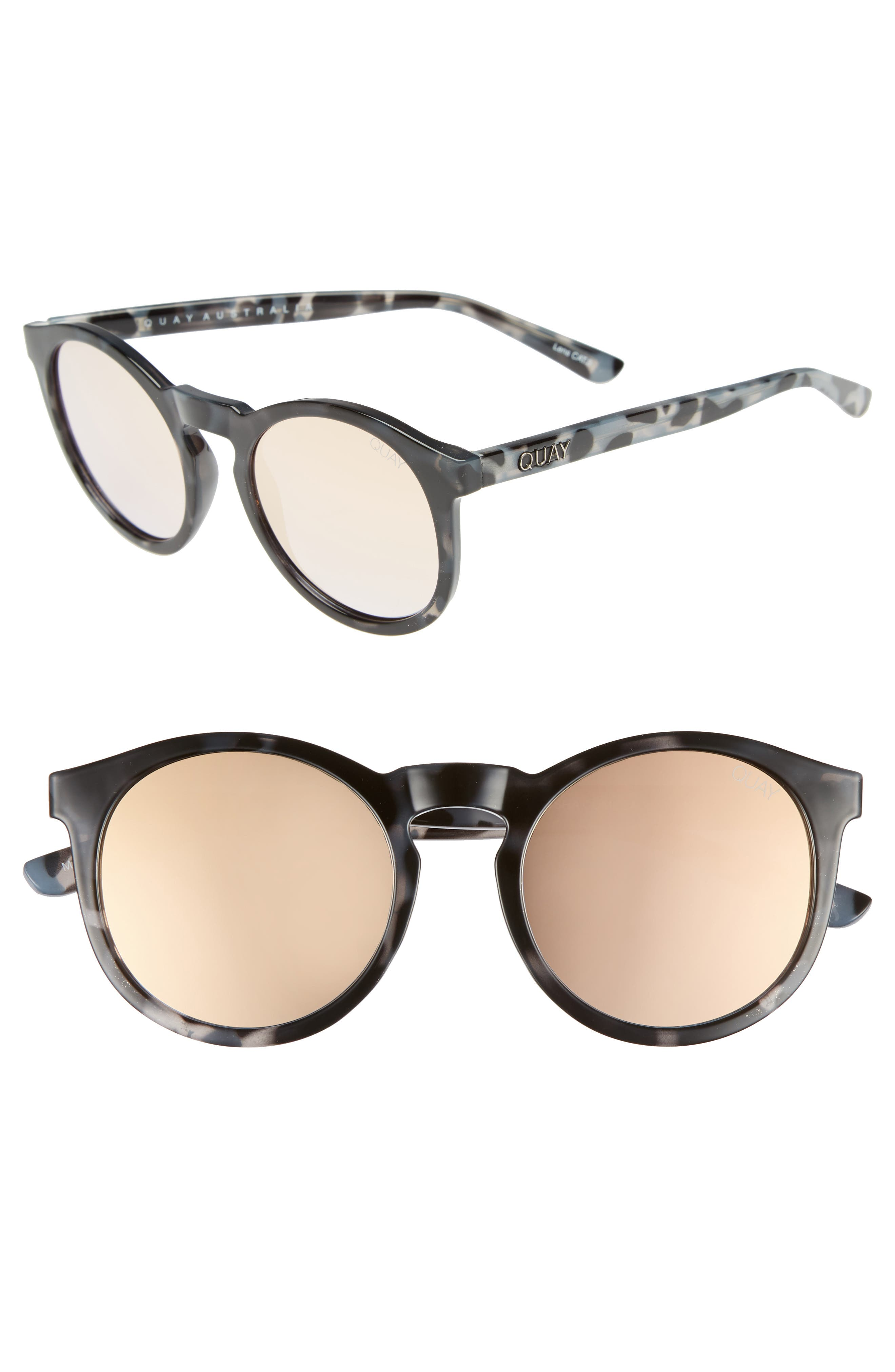 Kosha 49mm Round Sunglasses,                             Main thumbnail 2, color,