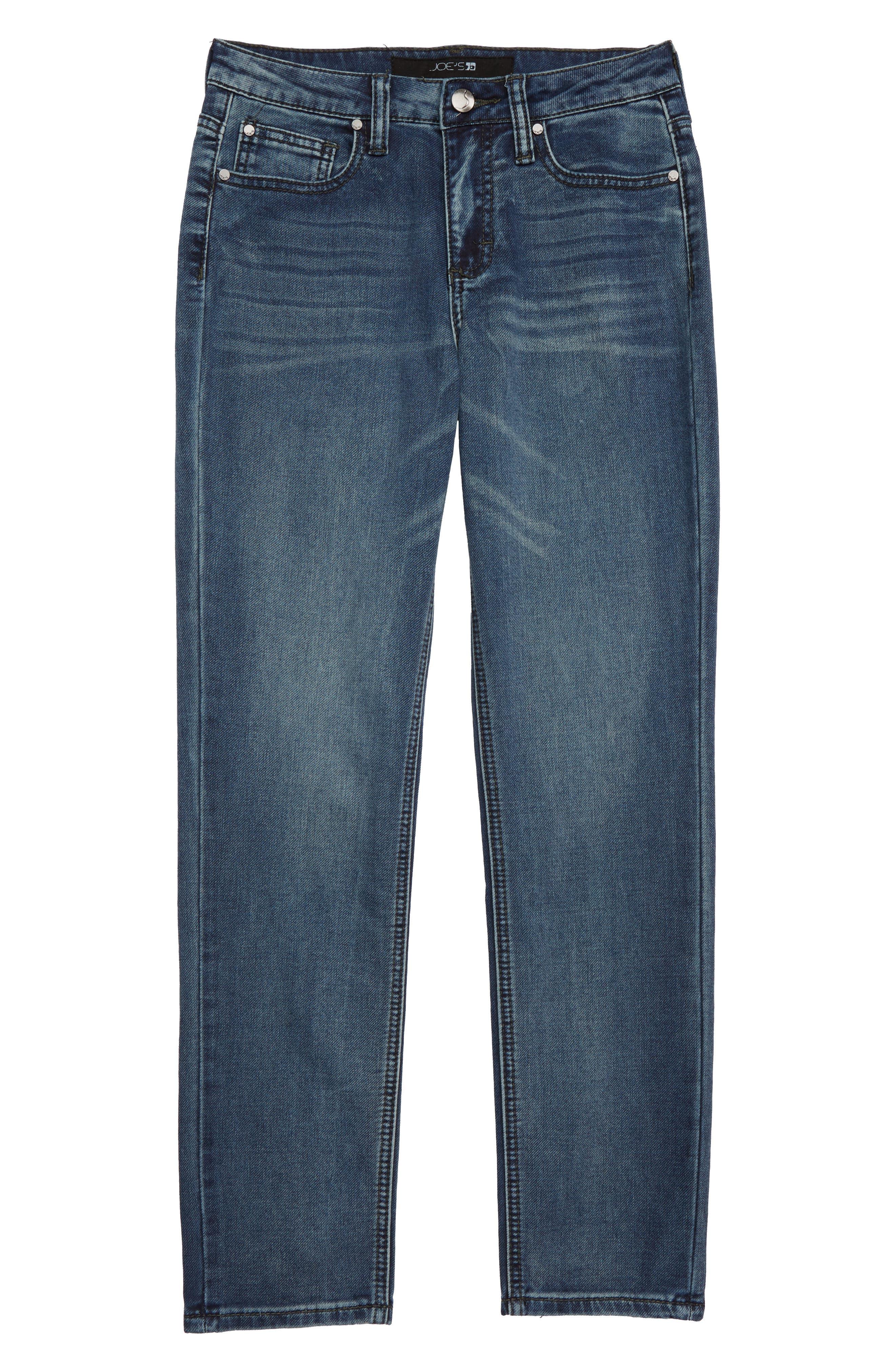 Boys Joes Brixton Straight Leg Jeans Size 16  Blue