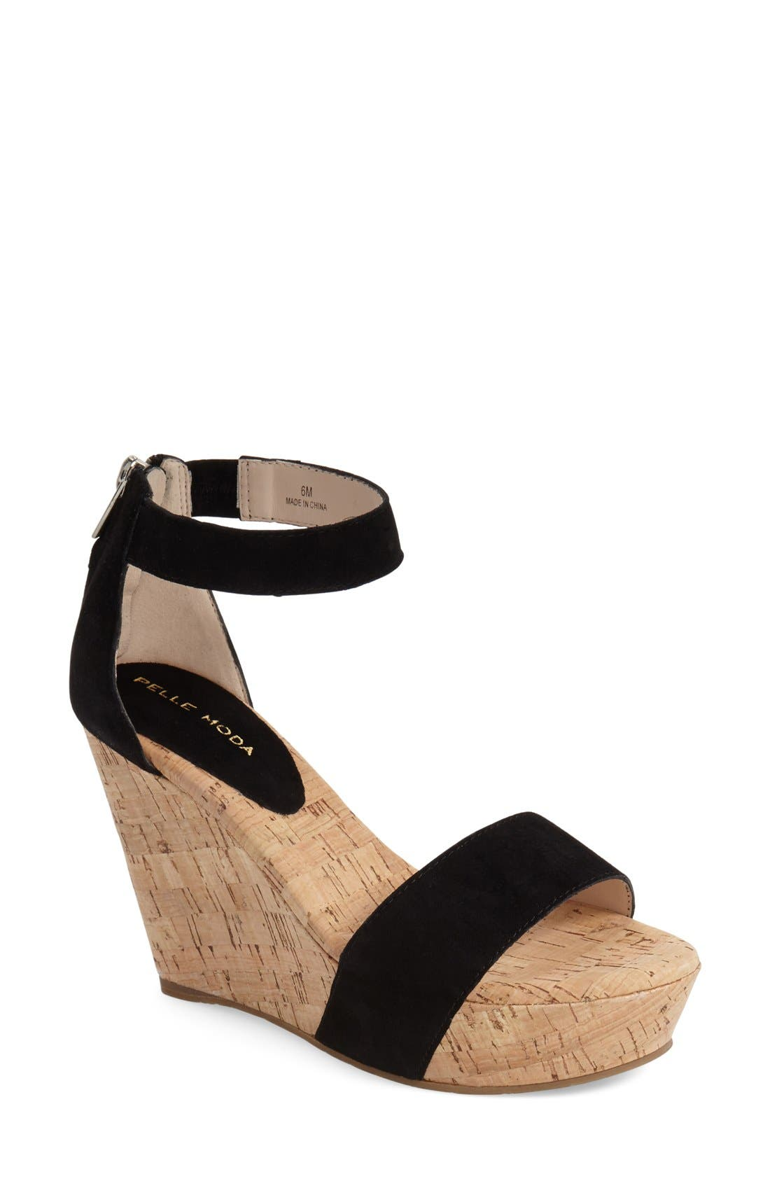 'Clare' Sandal,                         Main,                         color, 001