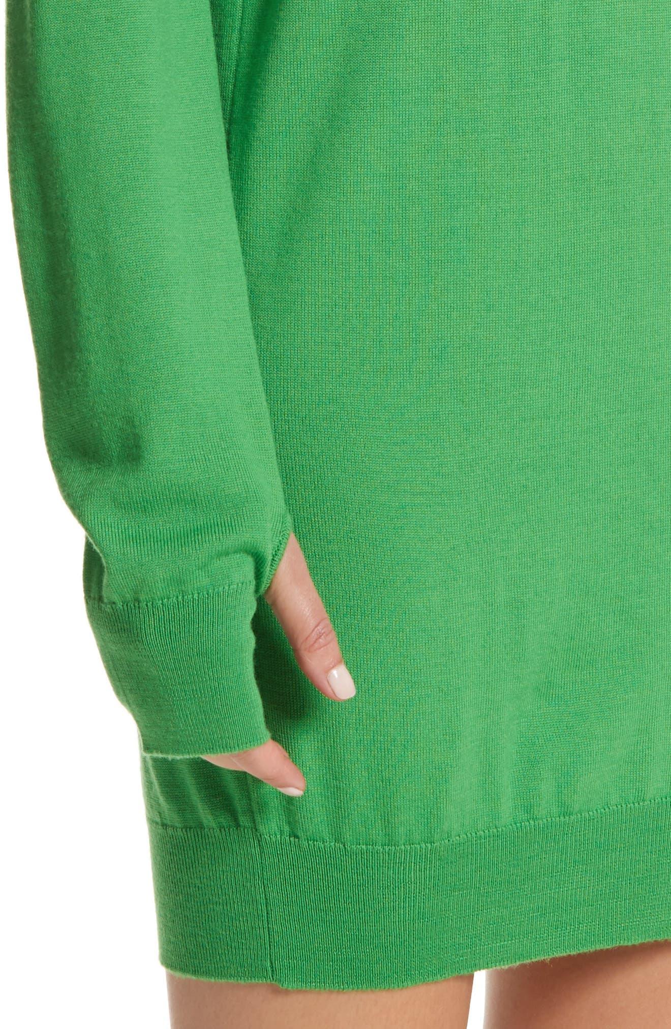 Wool Sweater Dress,                             Alternate thumbnail 4, color,                             300