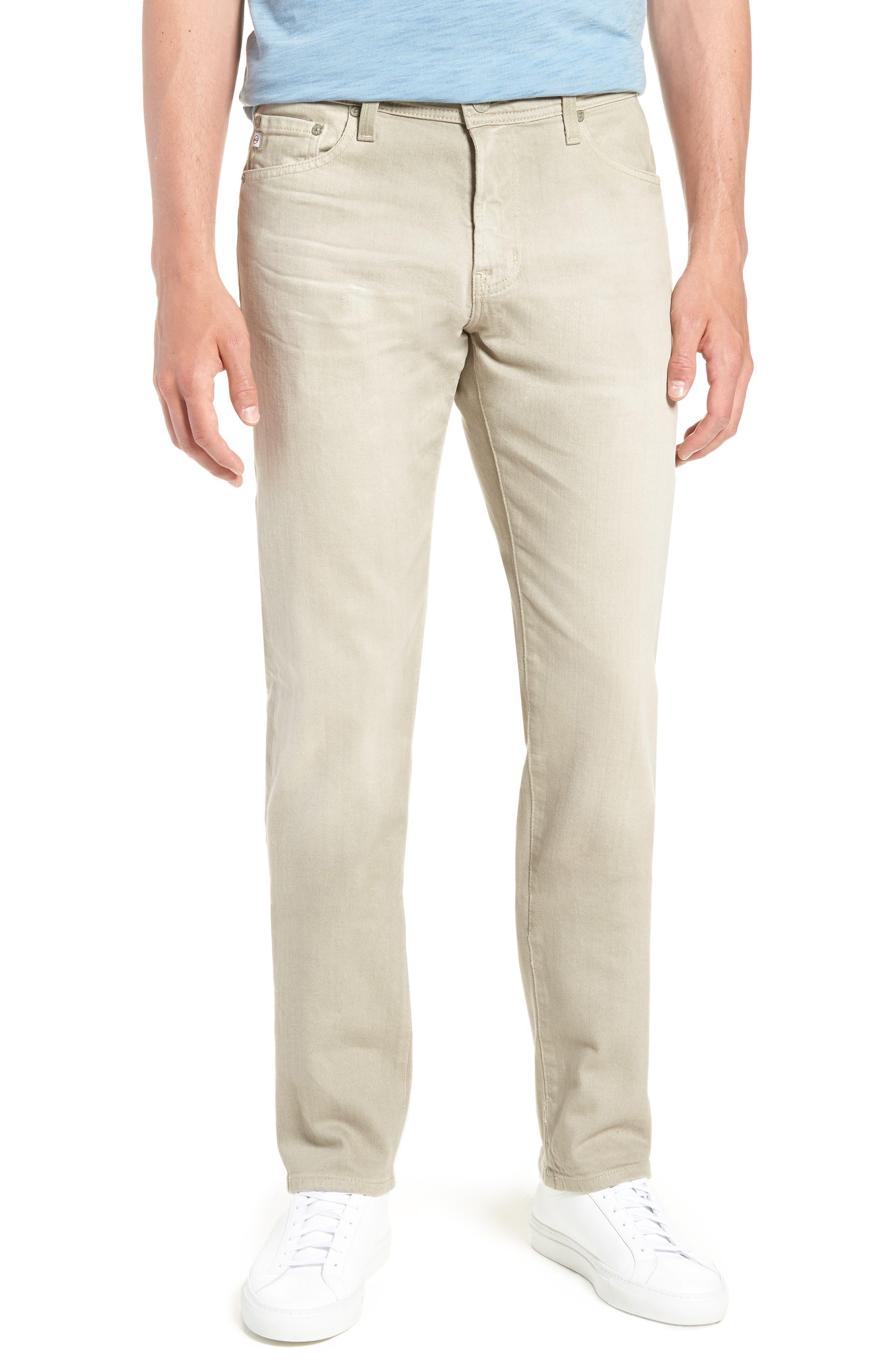 Tellis Slim Leg Twill Pants,                         Main,                         color, 268