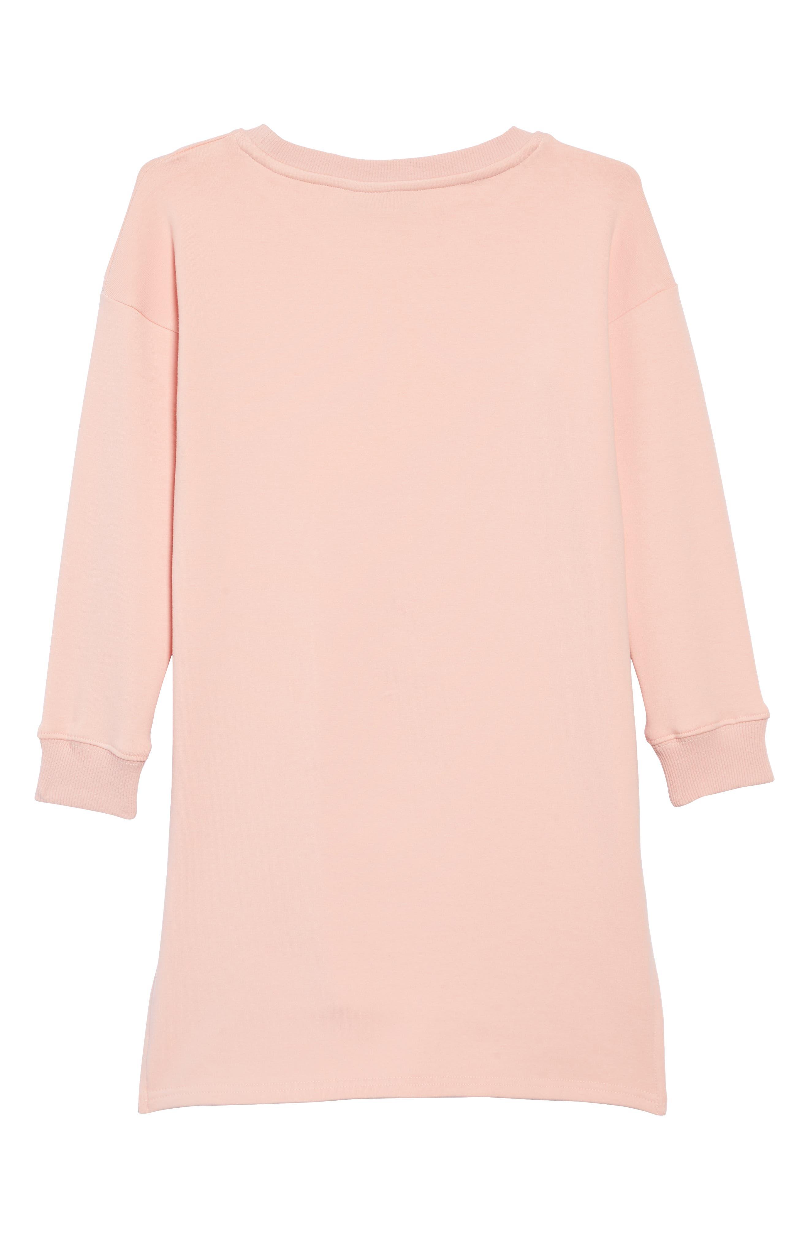 What If I Fall T-Shirt Dress,                             Alternate thumbnail 2, color,                             650