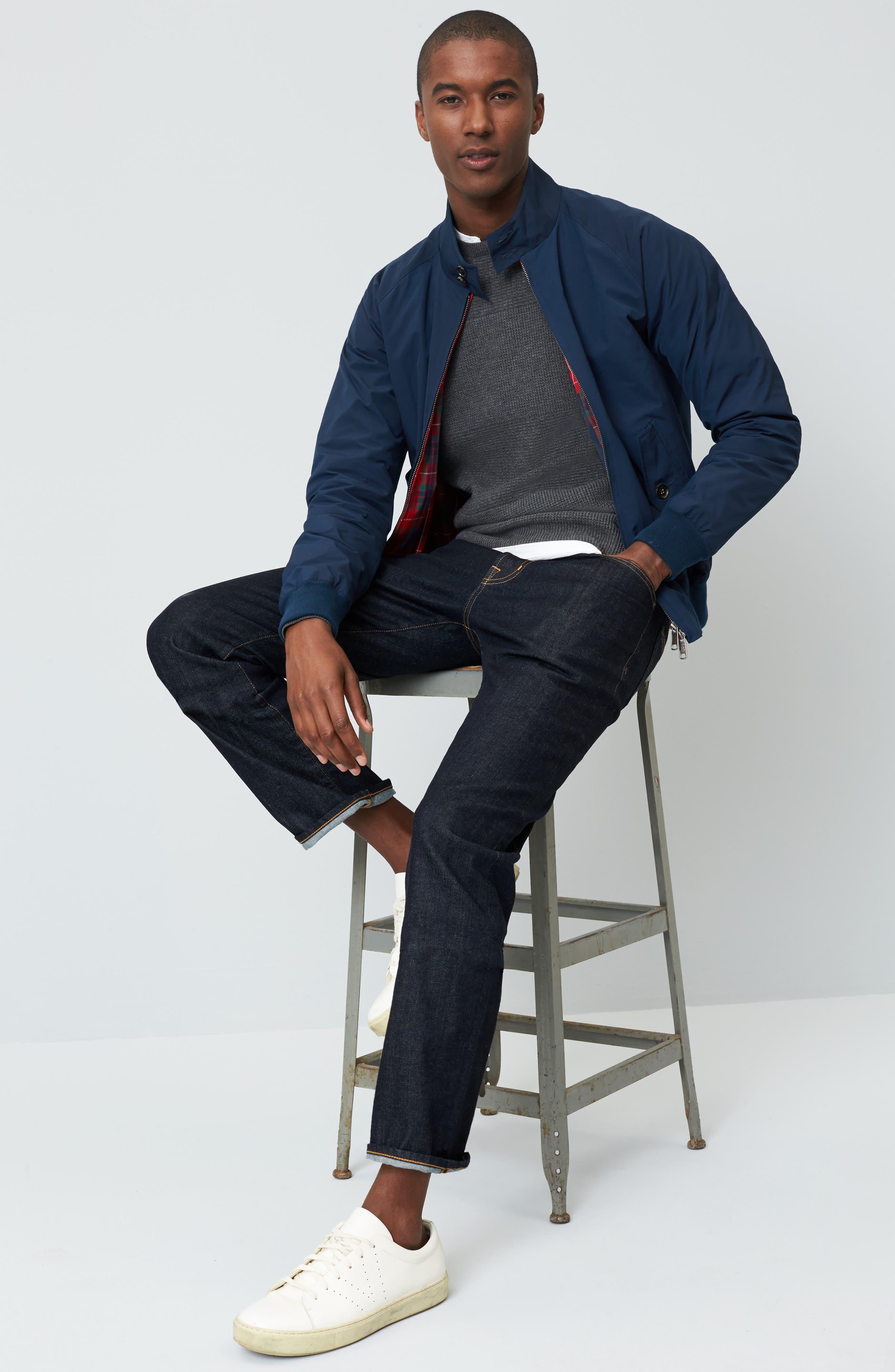 Everett Slim Straight Leg Jeans,                             Alternate thumbnail 7, color,                             HIGHWAY