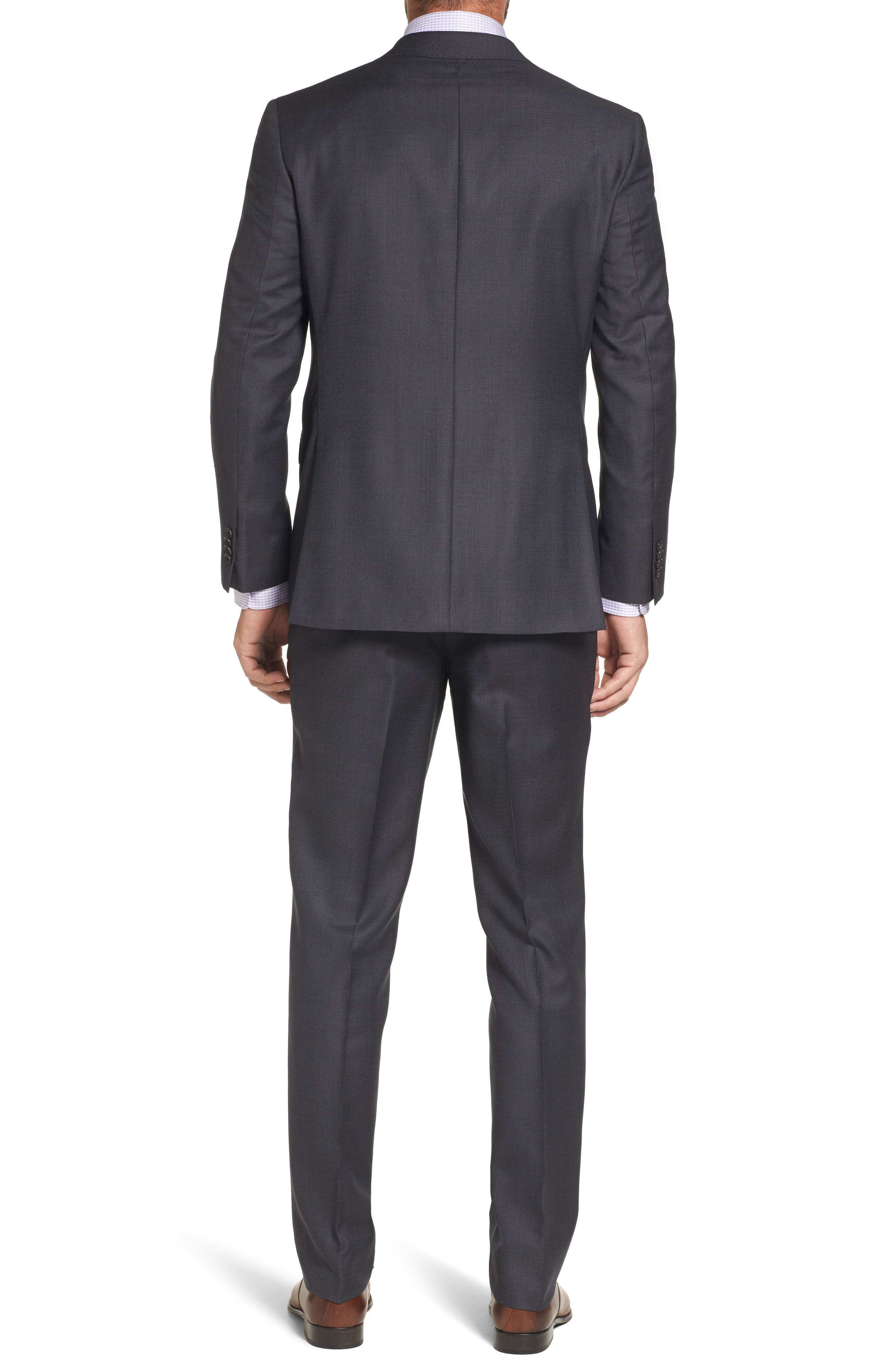 Ryan Classic Fit Solid Wool Suit,                             Alternate thumbnail 2, color,                             010