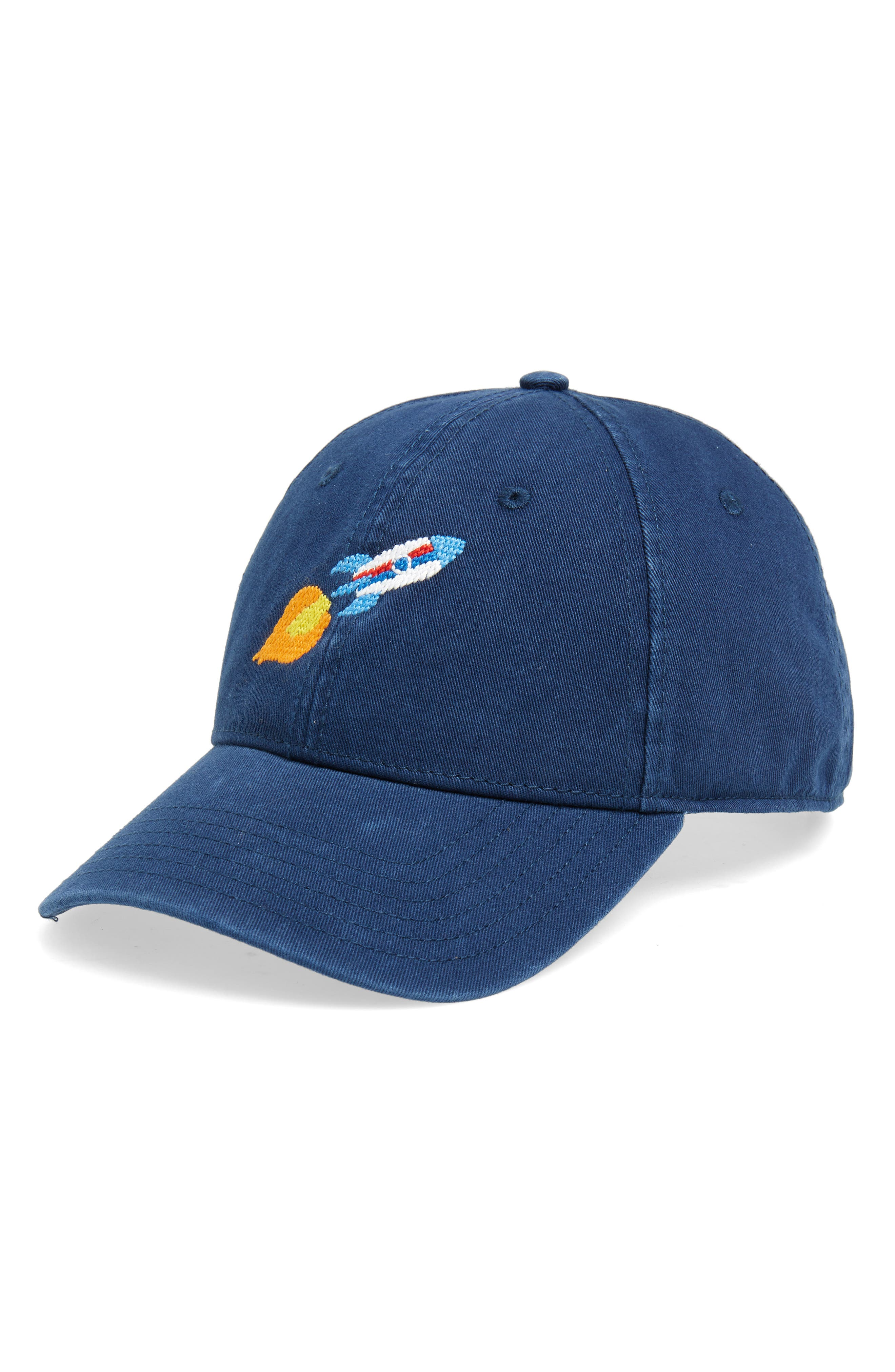 Rocket Baseball Cap,                         Main,                         color, NAVY