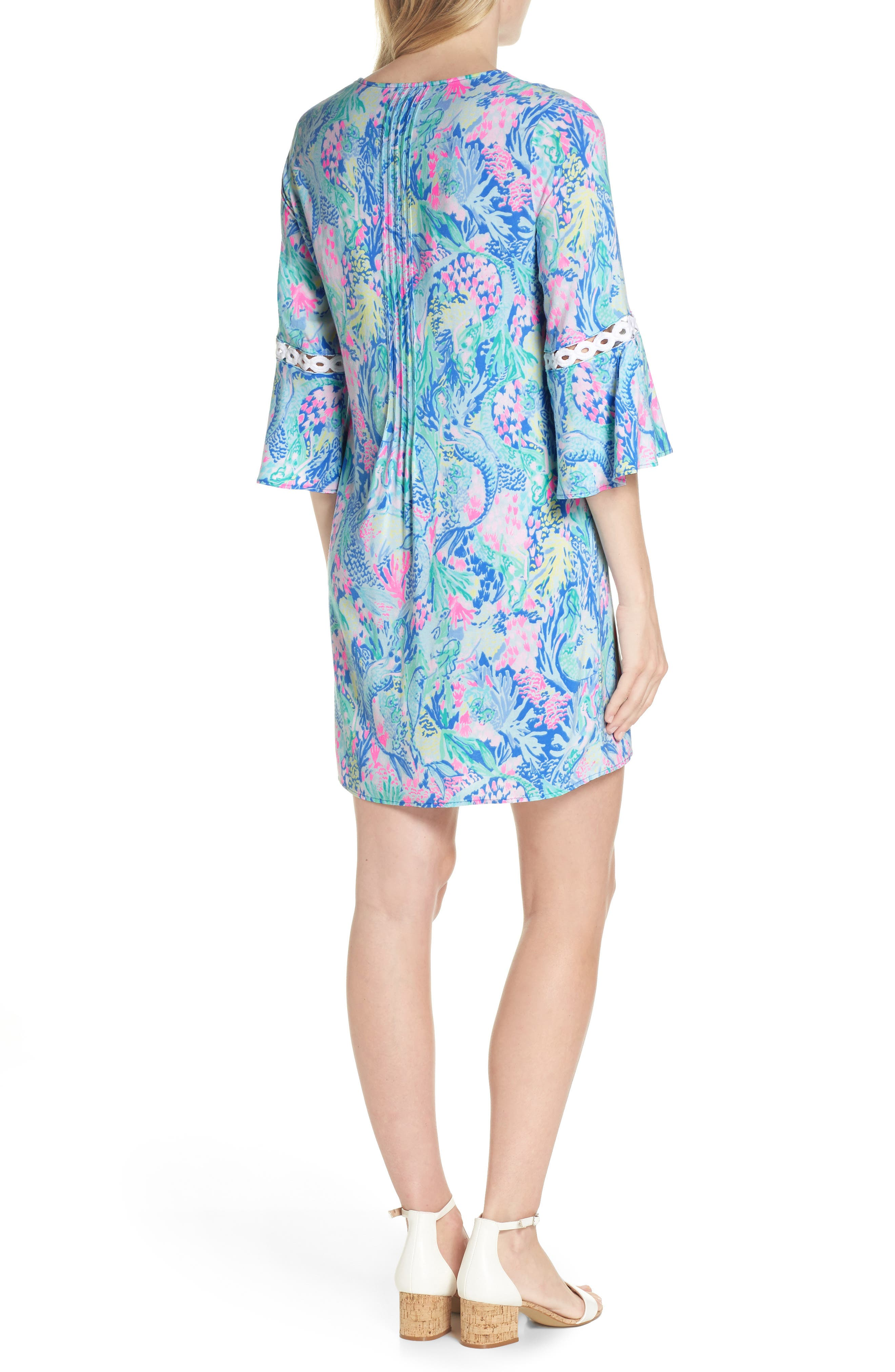LILLY PULITZER<SUP>®</SUP>,                             Hollie Tunic Dress,                             Alternate thumbnail 2, color,                             MULTI MERMAIDS COVE