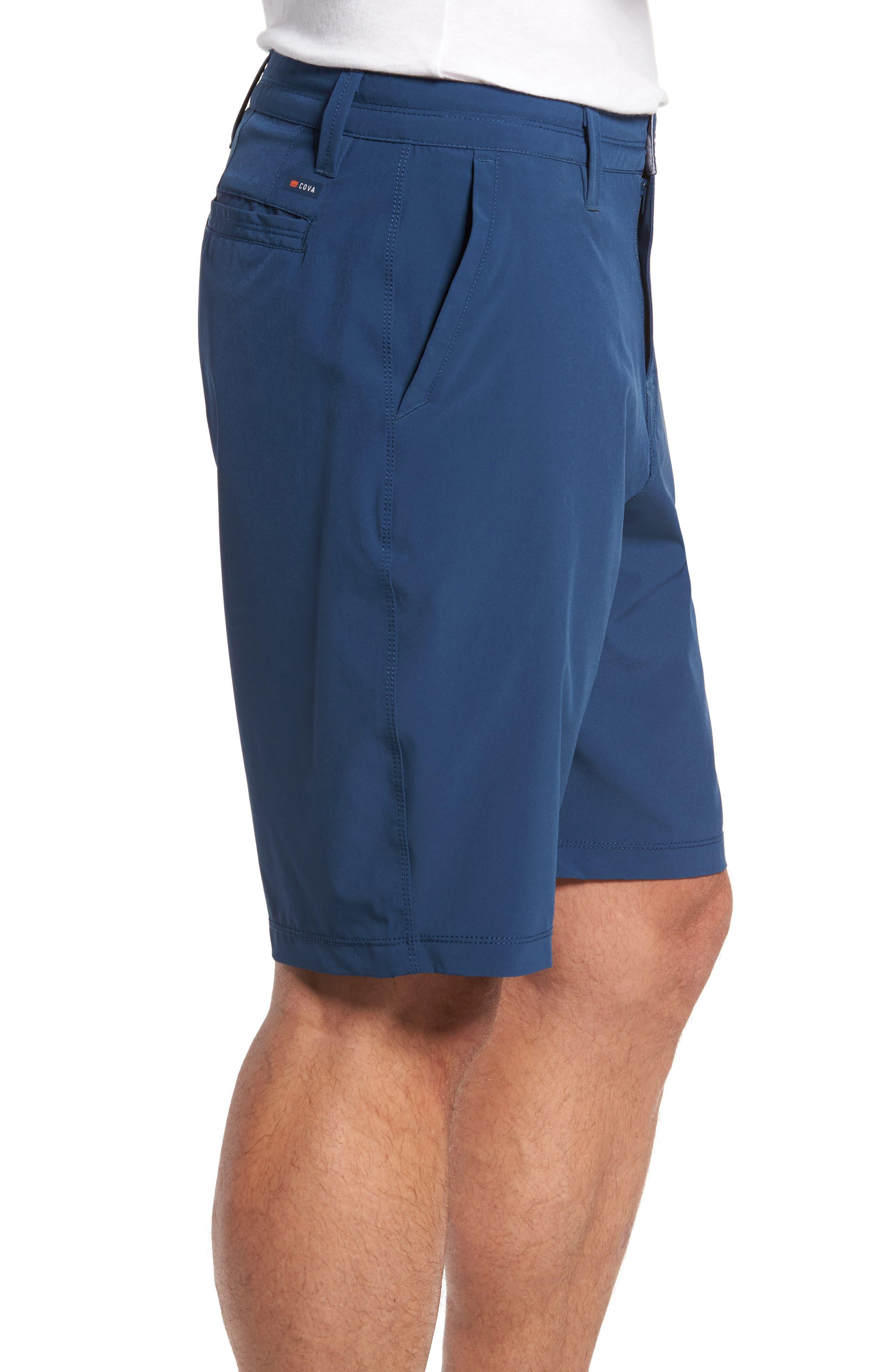 Coast Regular Fit Hybrid Shorts,                             Alternate thumbnail 3, color,                             DEEP SEA