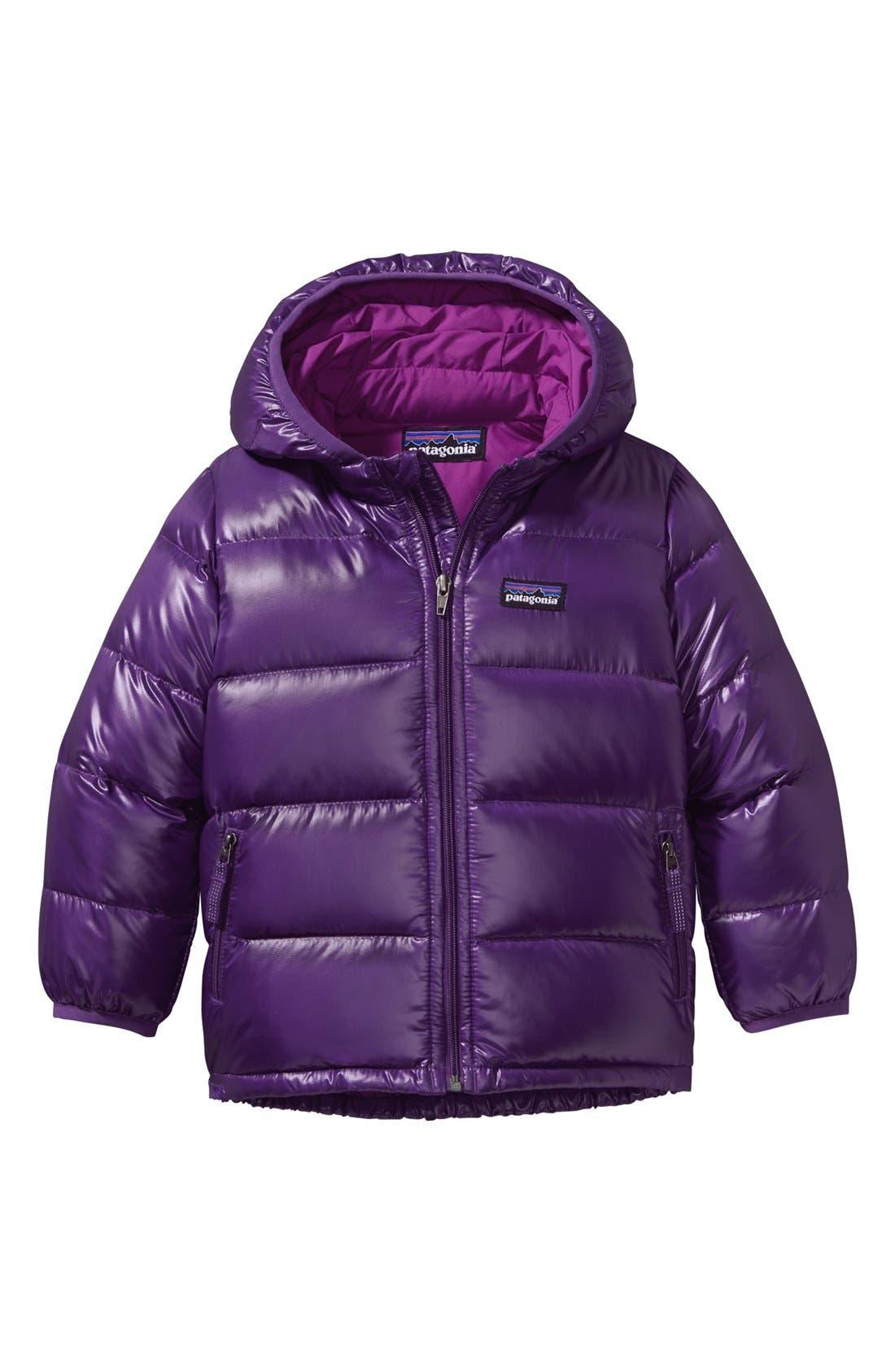 'Hi-Loft Down Sweater' Hooded Jacket, Main, color, 500